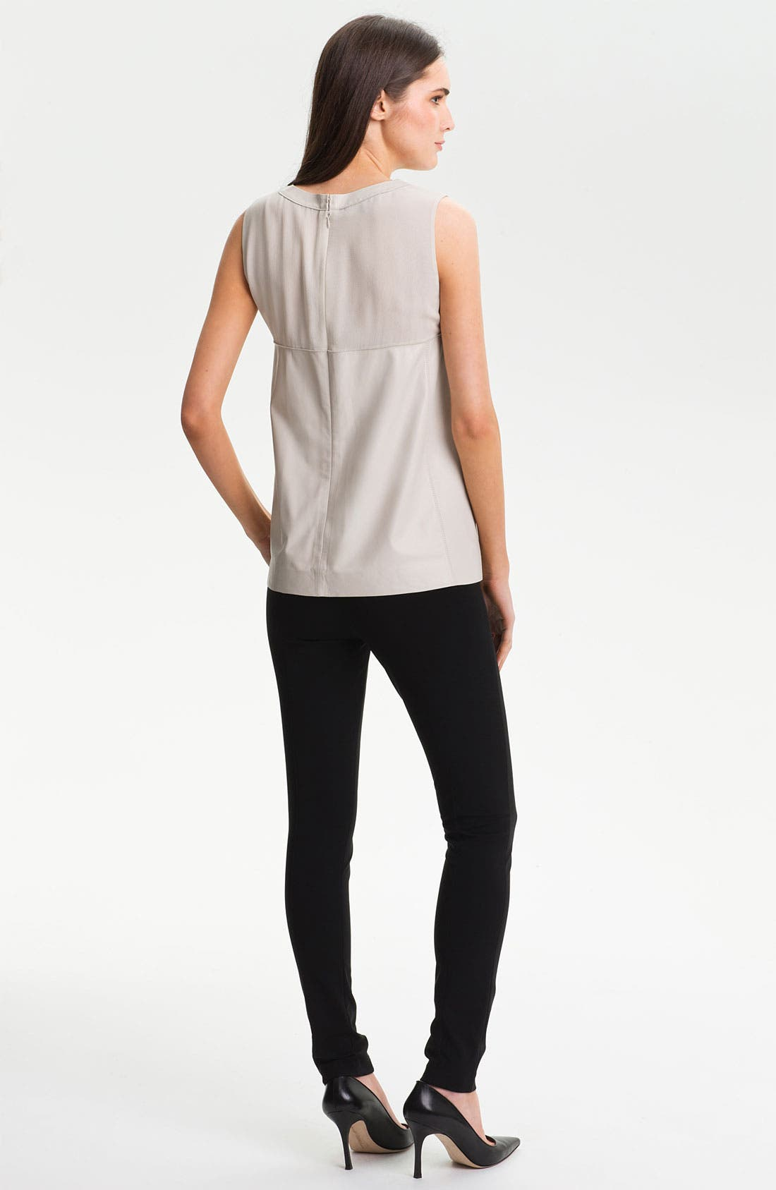 Alternate Image 5  - Lafayette 148 New York Matte Jersey Slim Pants