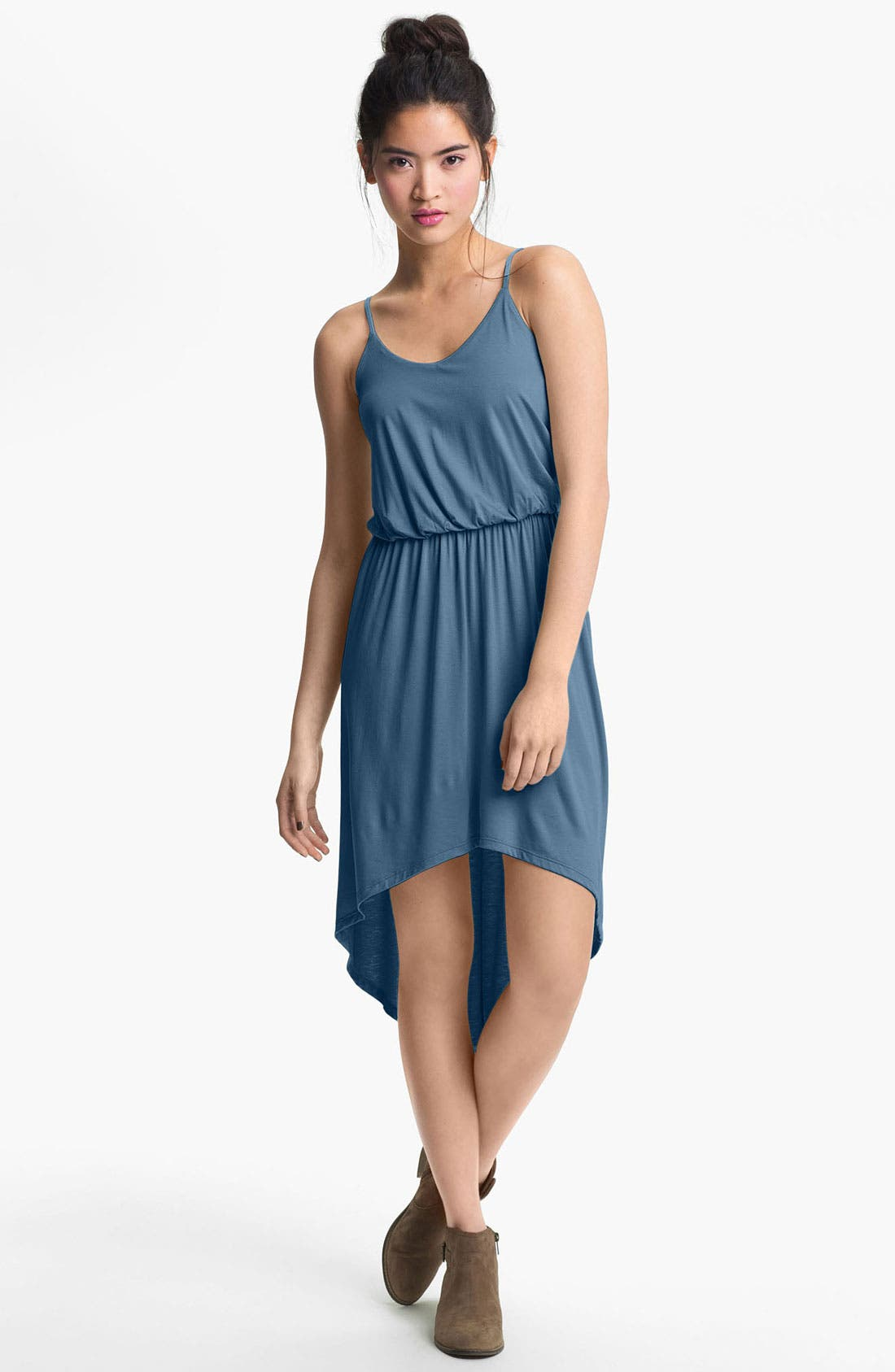 Alternate Image 1 Selected - Lush High/Low Dress (Juniors)