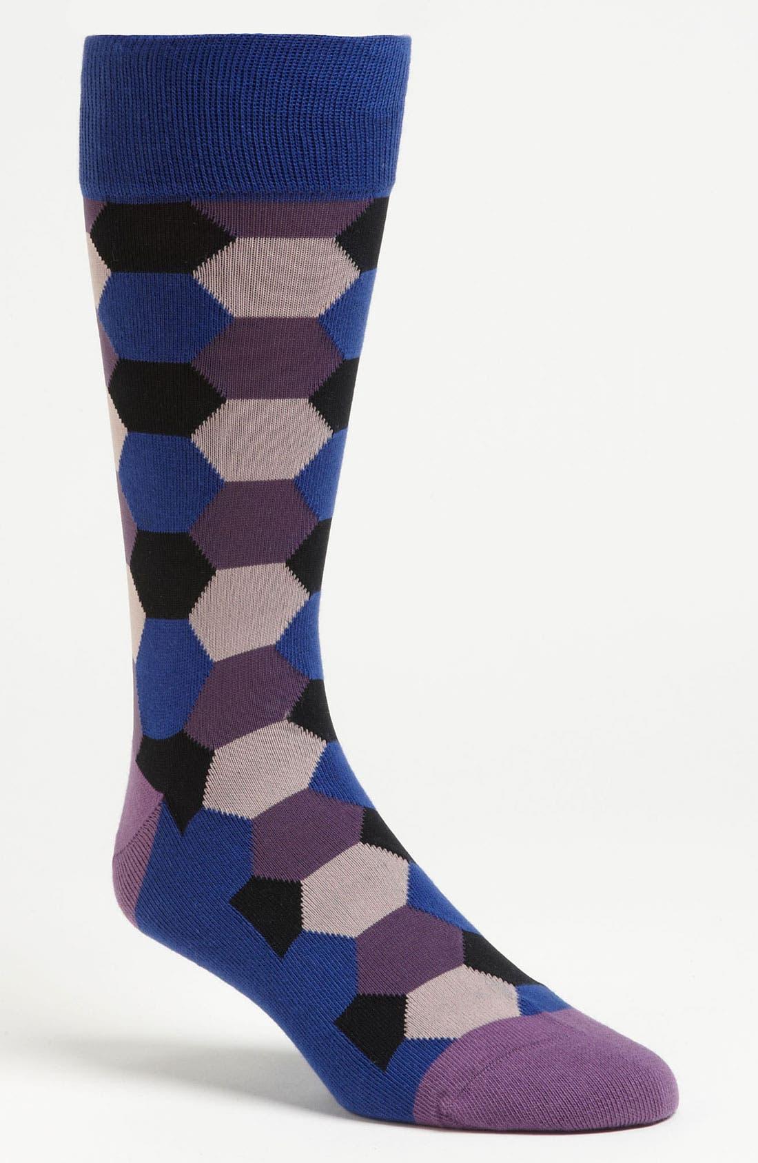 Alternate Image 1 Selected - Calibrate 'Honeycomb' Socks