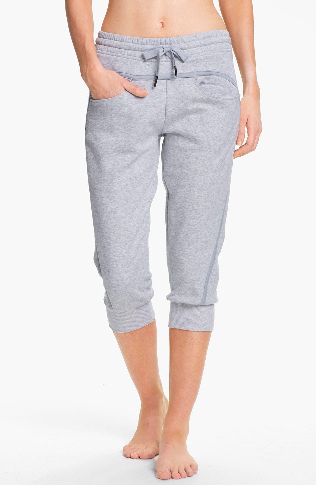 Main Image - adidas by Stella McCartney 'Essentials' Three-Quarter Sweatpants
