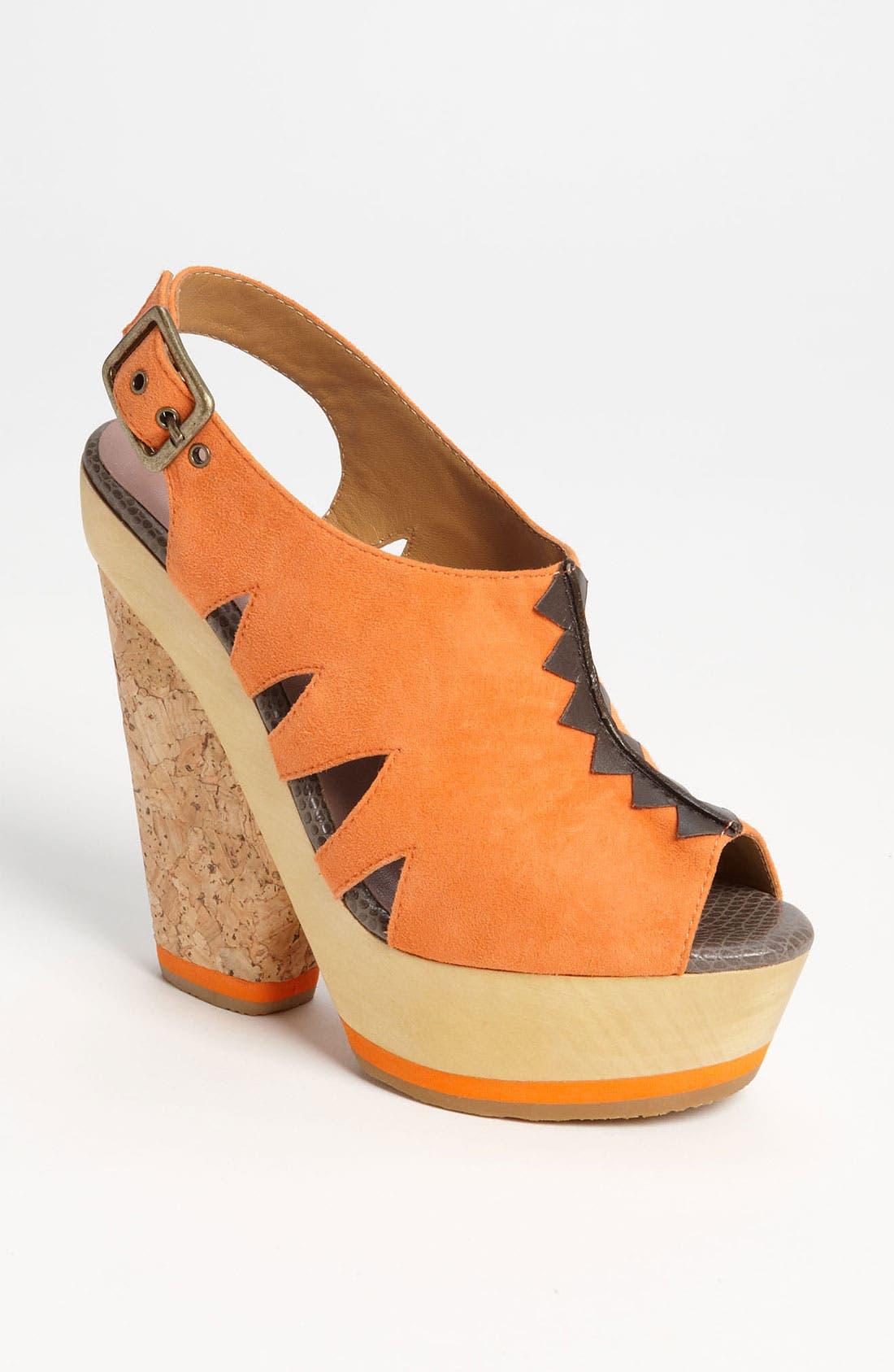Alternate Image 1 Selected - Blonde Ambition 'Nafita' Sandal