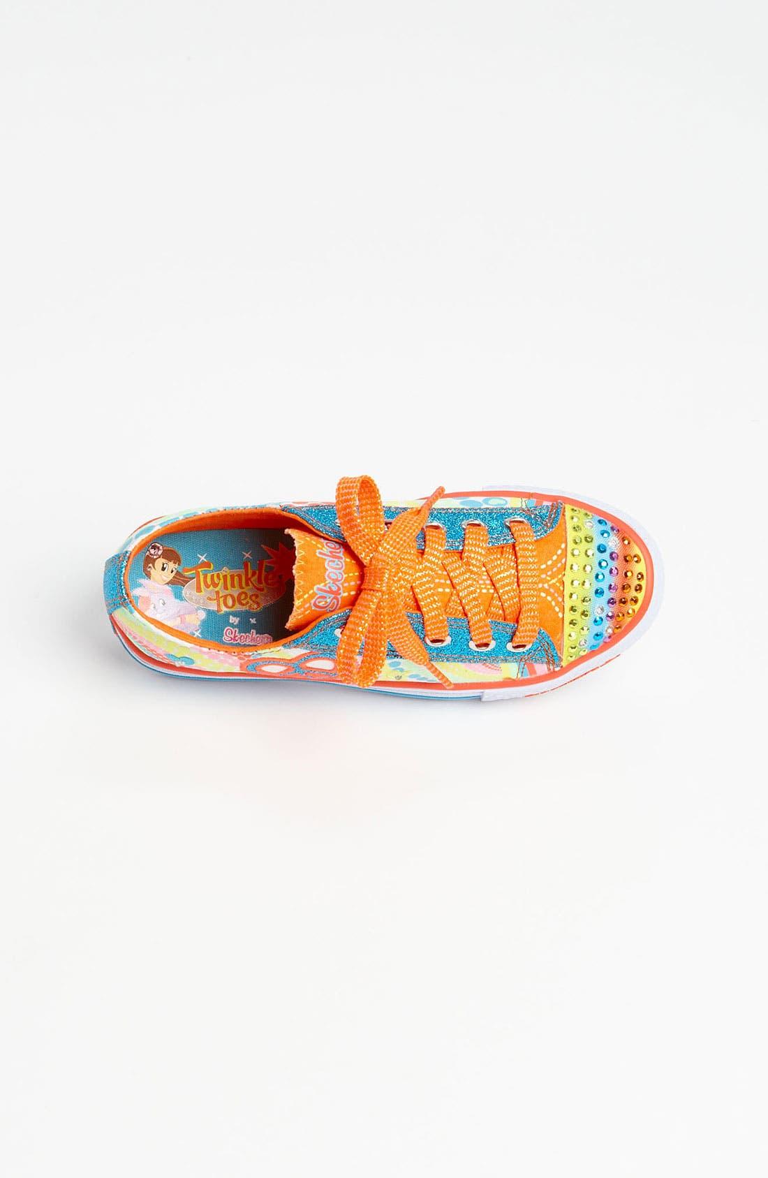 Alternate Image 3  - SKECHERS 'Shuffles - Lights Heart Sparks' Sneaker (Walker, Toddler & Little Kid)