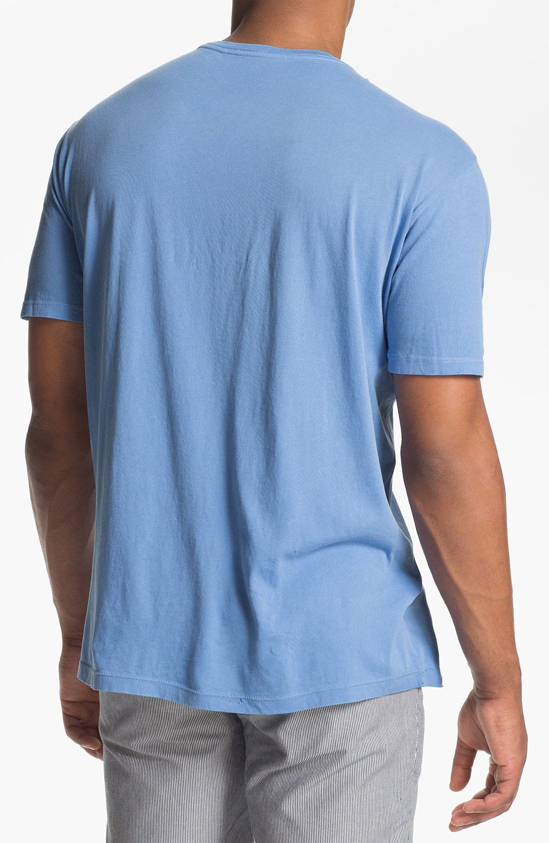 Alternate Image 2  - Wallin & Bros. Trim Fit Crewneck T-Shirt