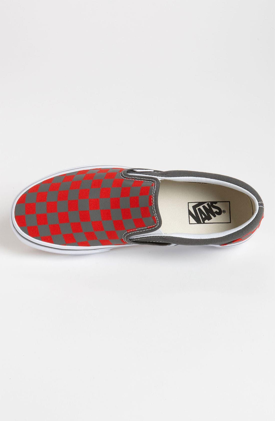 Alternate Image 3  - Vans 'Checkerboard' Slip-On (Men)