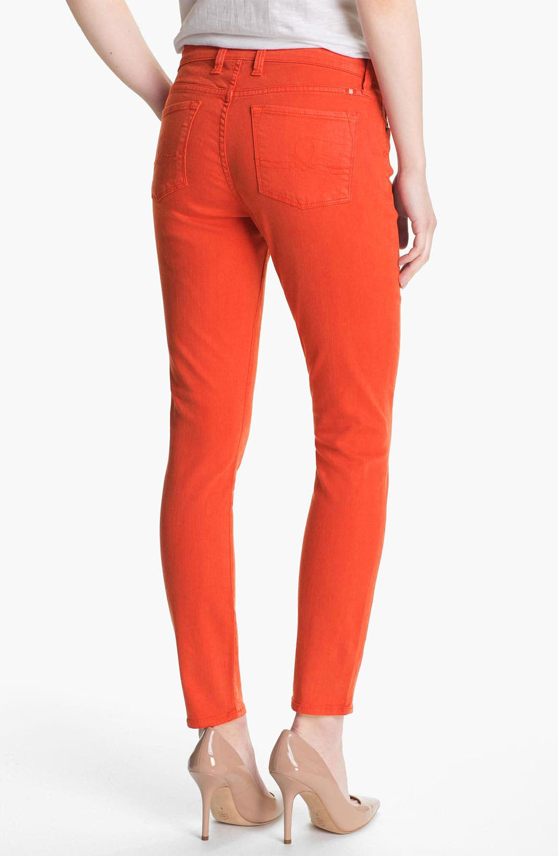 Alternate Image 2  - Lucky Brand 'Sofia' Colored Denim Skinny Jeans