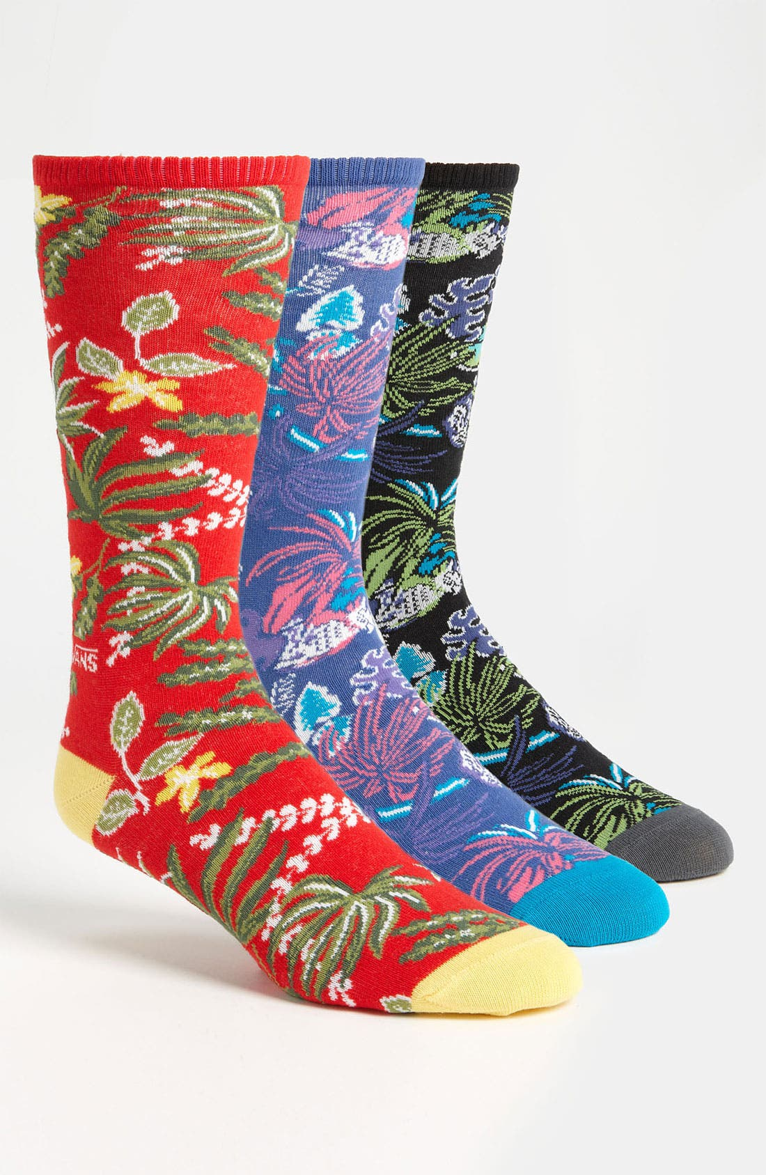 Alternate Image 1 Selected - Vans 'Broloha' Crew Socks (3-Pack)