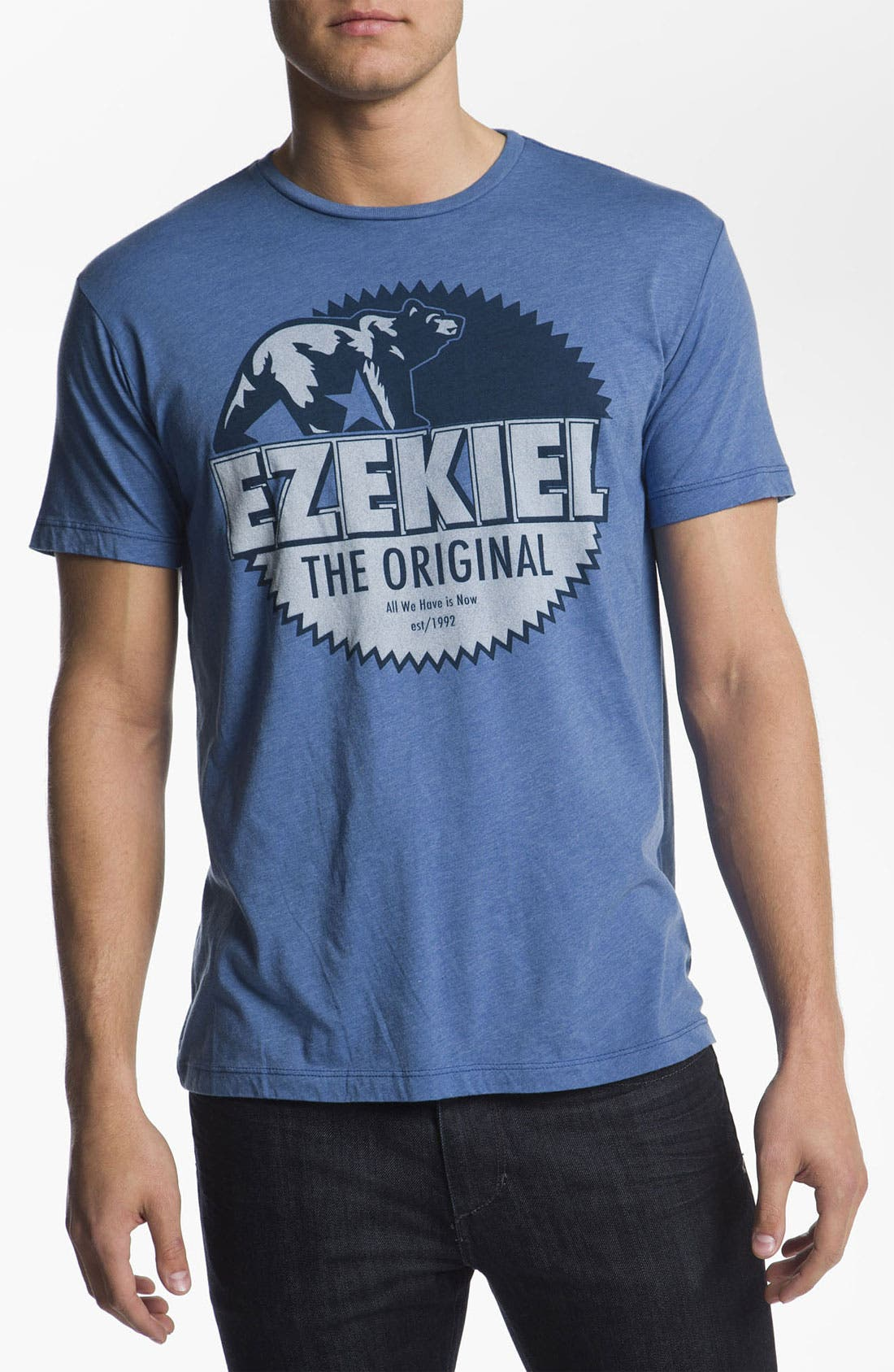 Main Image - Ezekiel Heathered T-Shirt