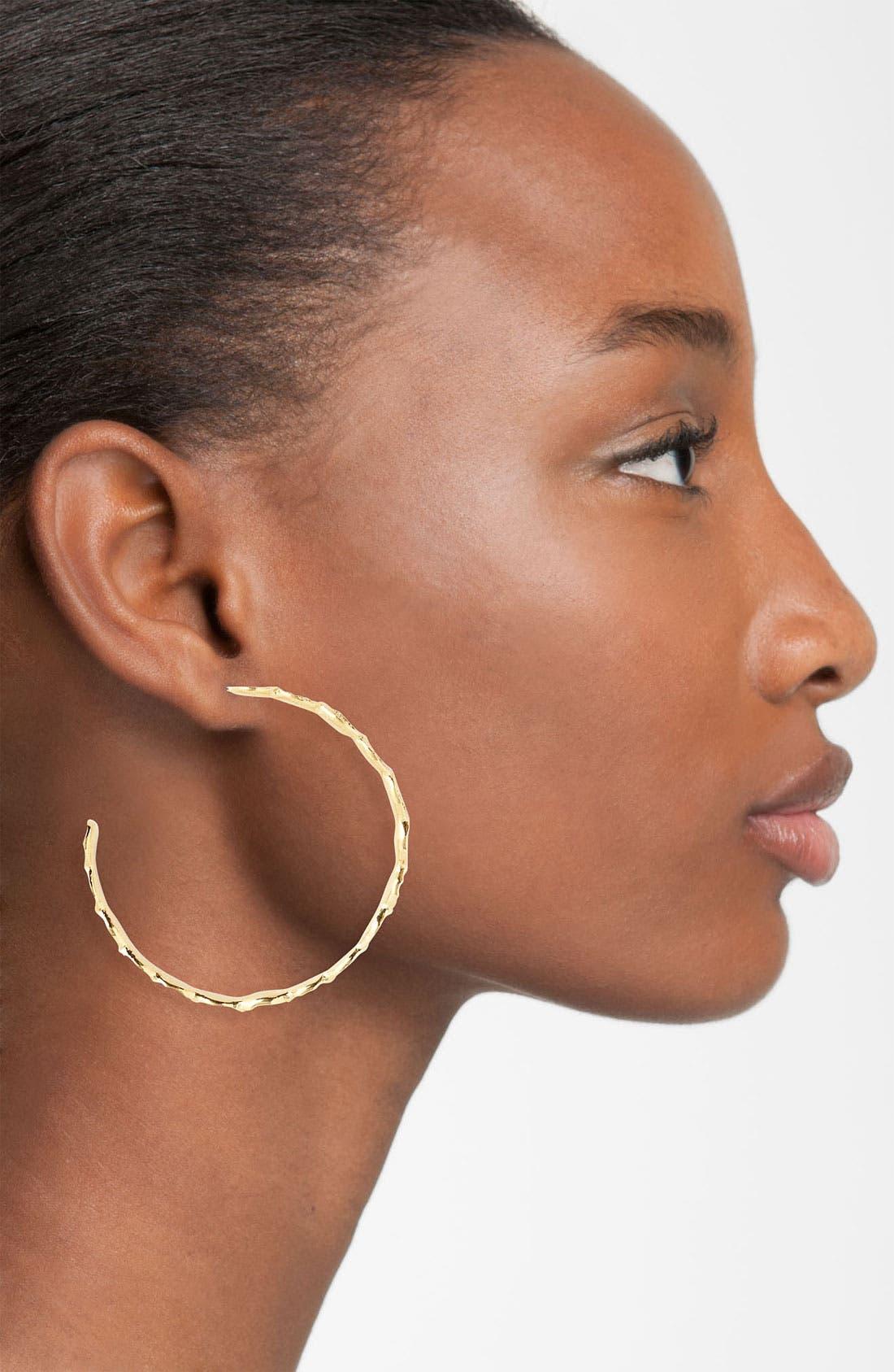 Alternate Image 2  - Melinda Maria 'Sabina' Hoop Earrings