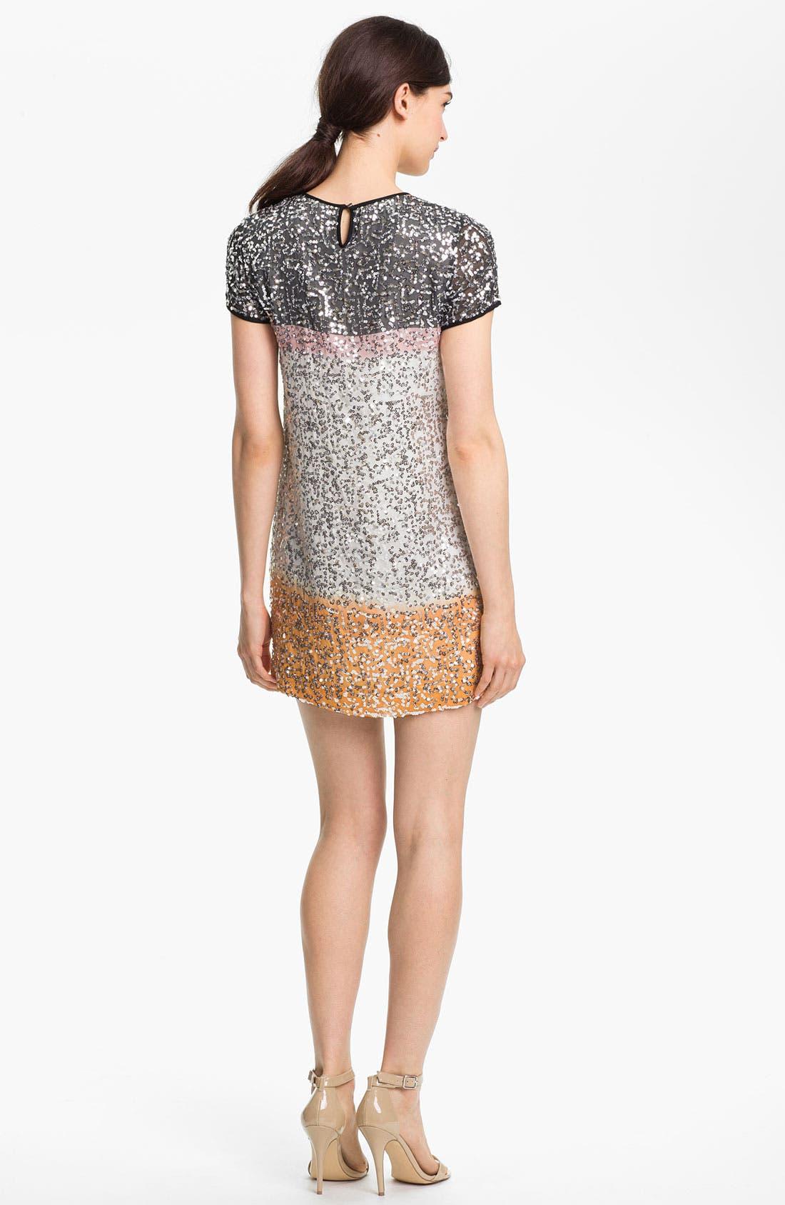 Alternate Image 2  - Diane von Furstenberg 'Barbie Embel' Silk Shift Dress