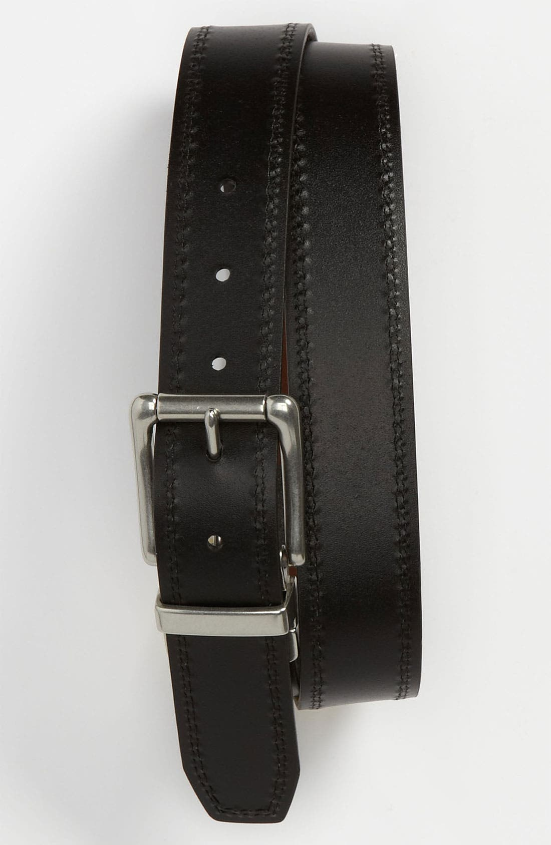 Alternate Image 2  - Fossil 'Derek' Reversible Leather Belt
