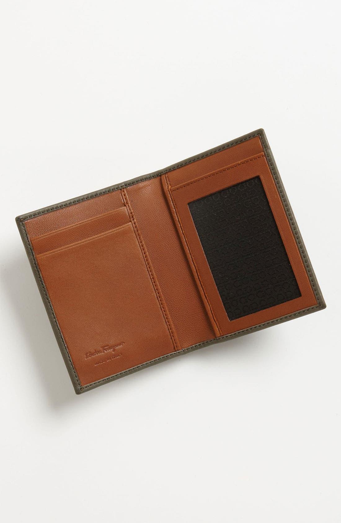 Alternate Image 3  - Salvatore Ferragamo 'Giacomo' Card Case