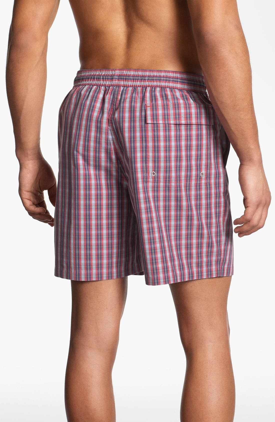 Alternate Image 2  - Brooks Brothers Swim Trunks