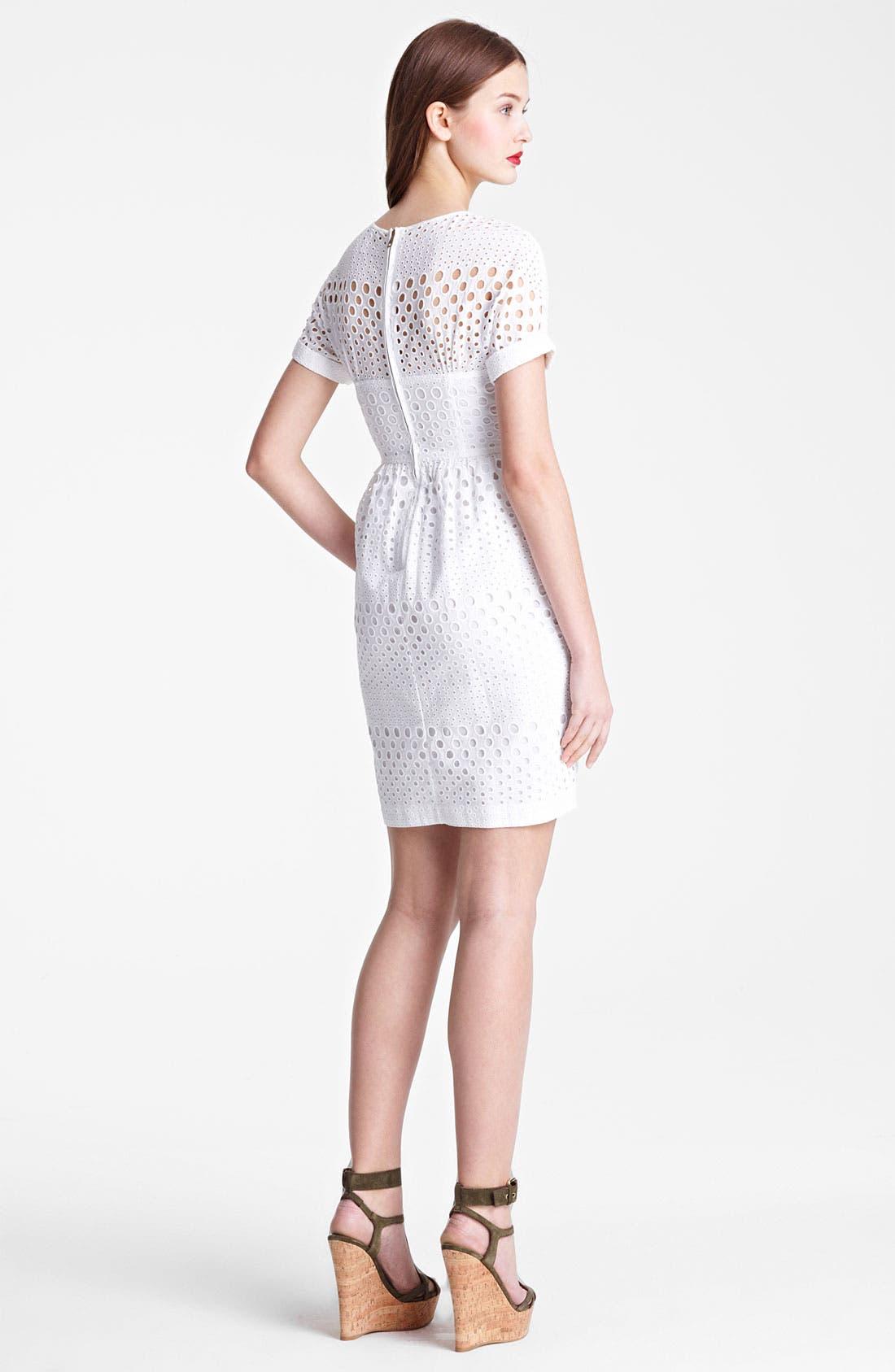 Alternate Image 2  - Burberry Brit 'Darcelle' Eyelet Dress