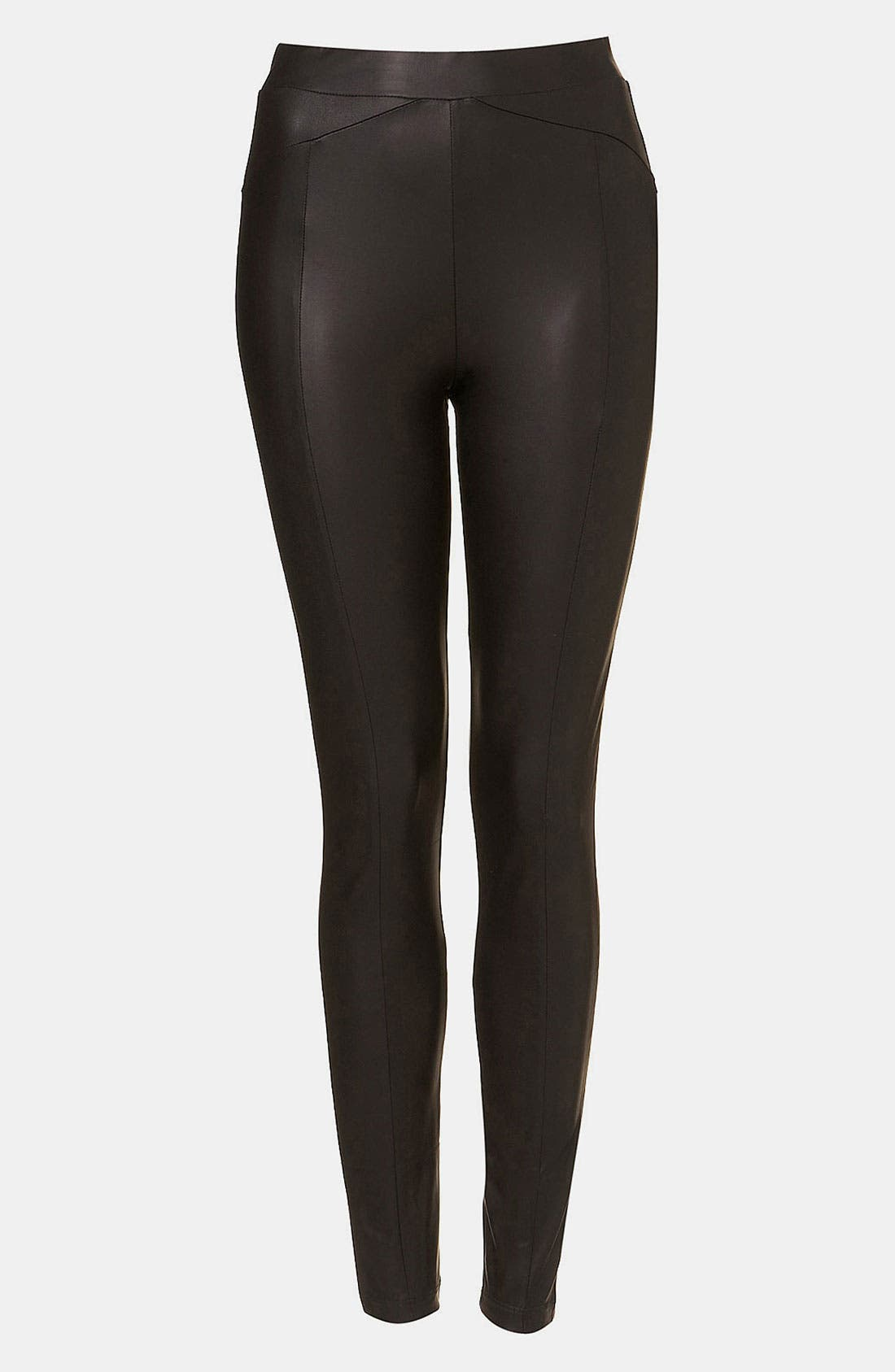 Alternate Image 1 Selected - Topshop Faux Leather Leggings