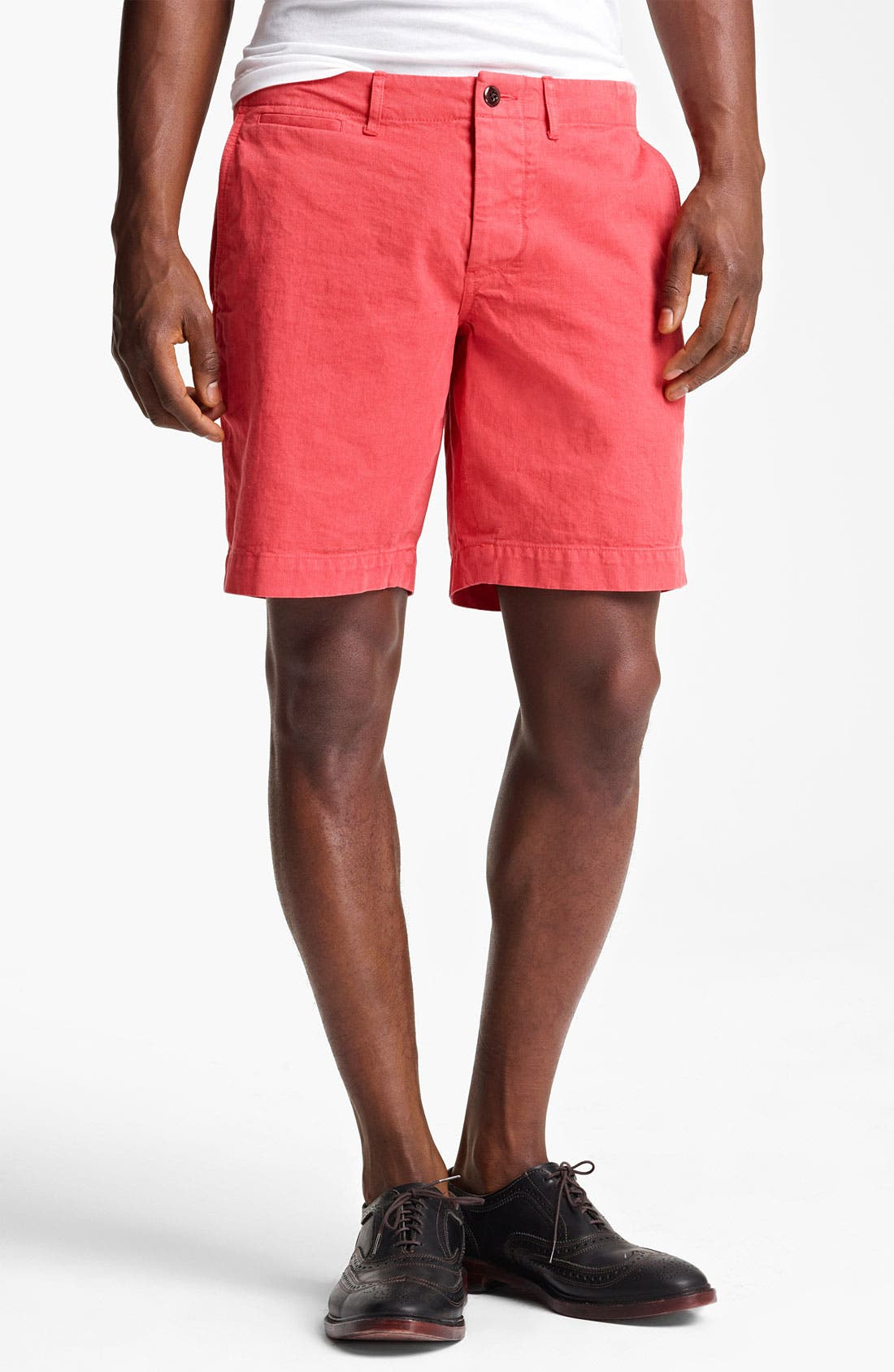 Alternate Image 1 Selected - Todd Snyder 'Officer' Chino Shorts
