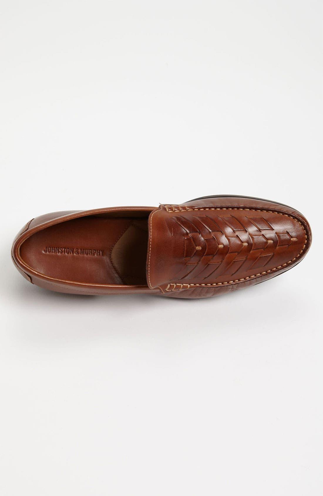 Alternate Image 3  - Johnston & Murphy 'Cresswell' Loafer (Online Only)