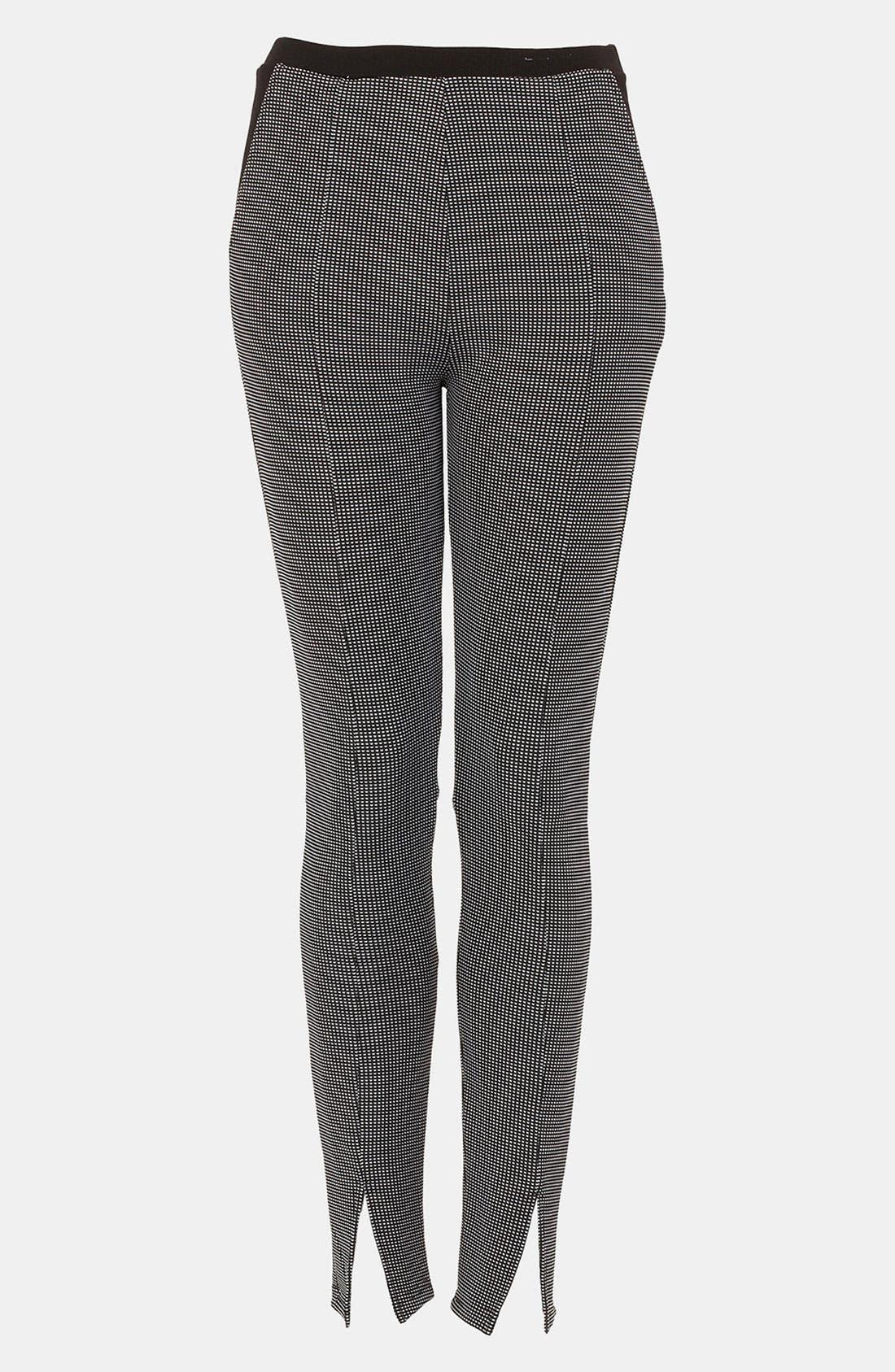 Alternate Image 1 Selected - Topshop Skinny Knit Pants