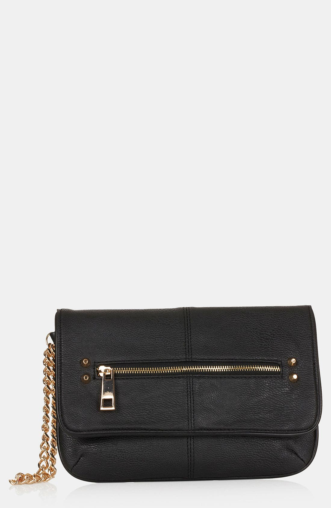 Main Image - Topshop Studded Clutch