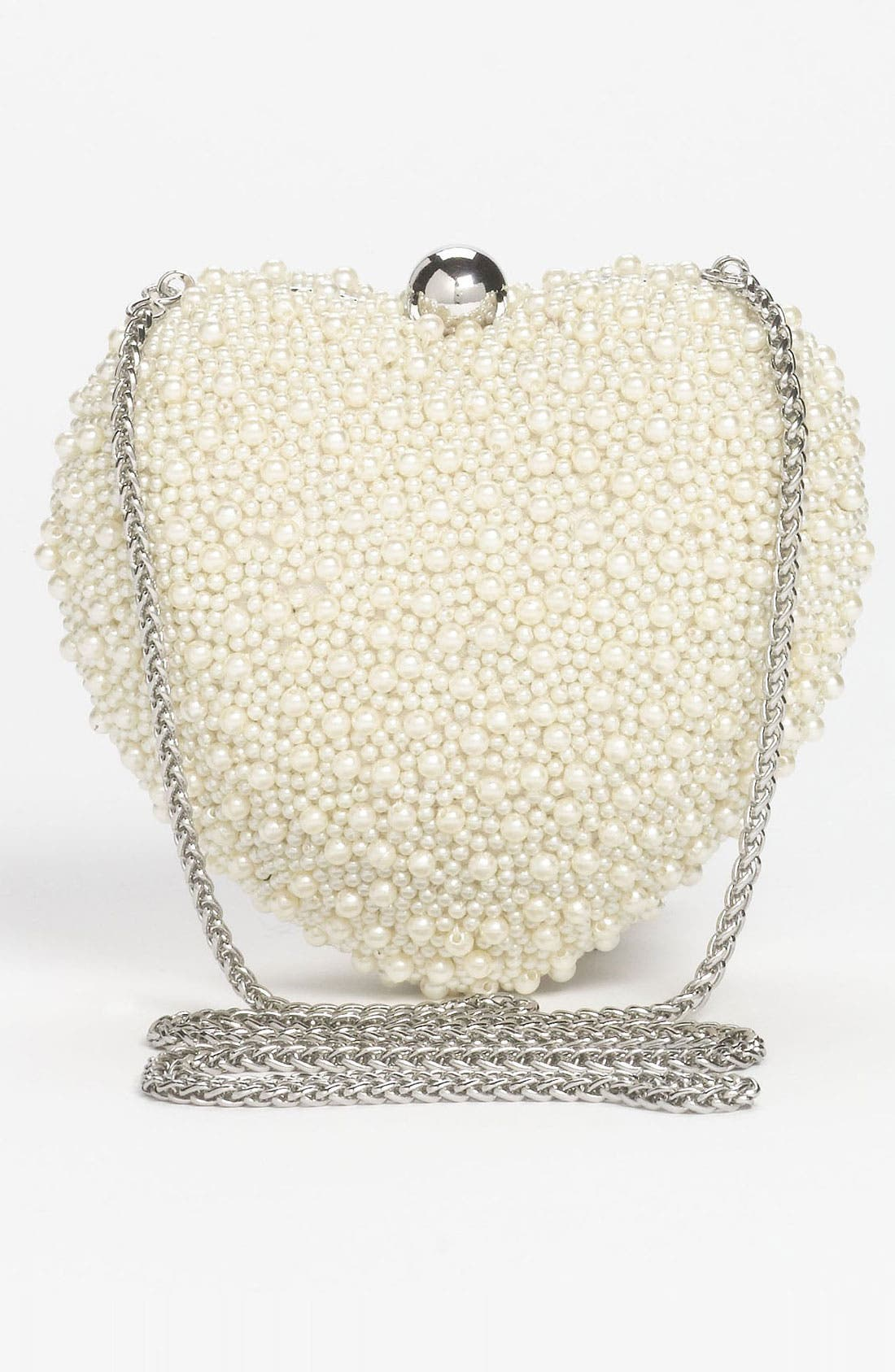 Alternate Image 4  - Nina Beaded Heart Box Clutch, Small