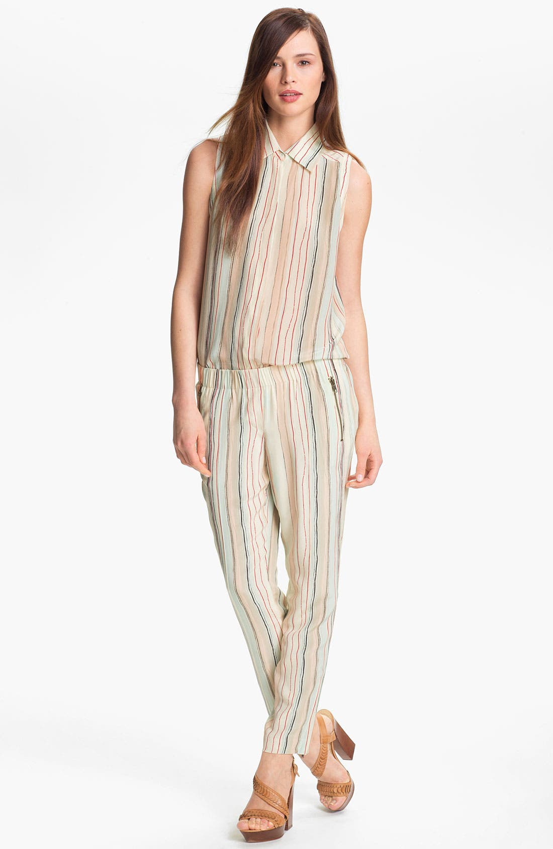 Alternate Image 1 Selected - Rachel Zoe 'Geri II' Sleeveless Shirt