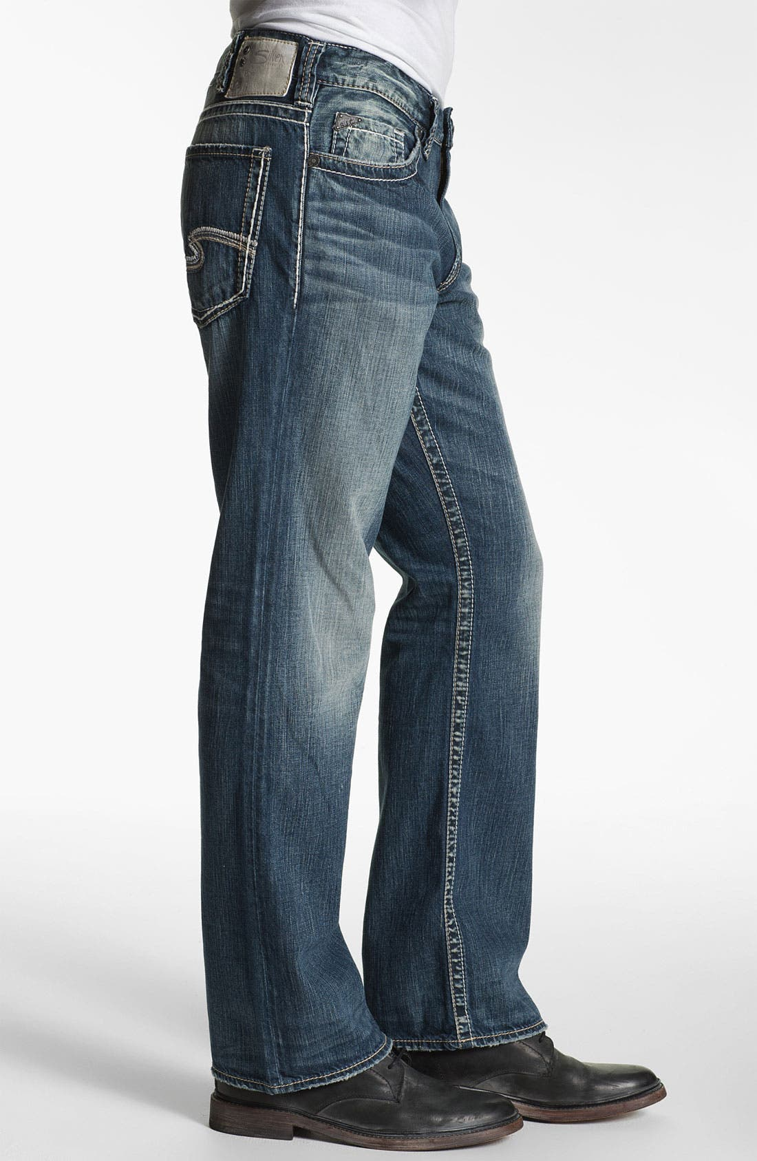 Alternate Image 3  - Silver Jeans Co. 'Grayson' Bootcut Jeans (Indigo)