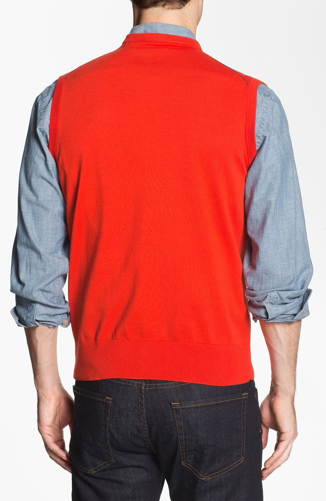 Alternate Image 2  - Victorinox Swiss Army® 'Suisse' Tailored Fit Sweater Vest (Online Only)