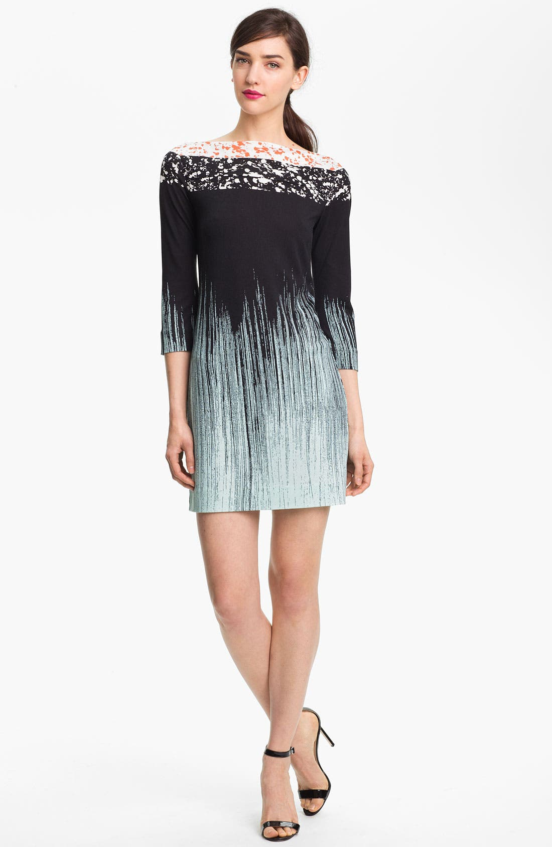 Alternate Image 1 Selected - Diane von Furstenberg 'Ruri' Silk Shift Dress