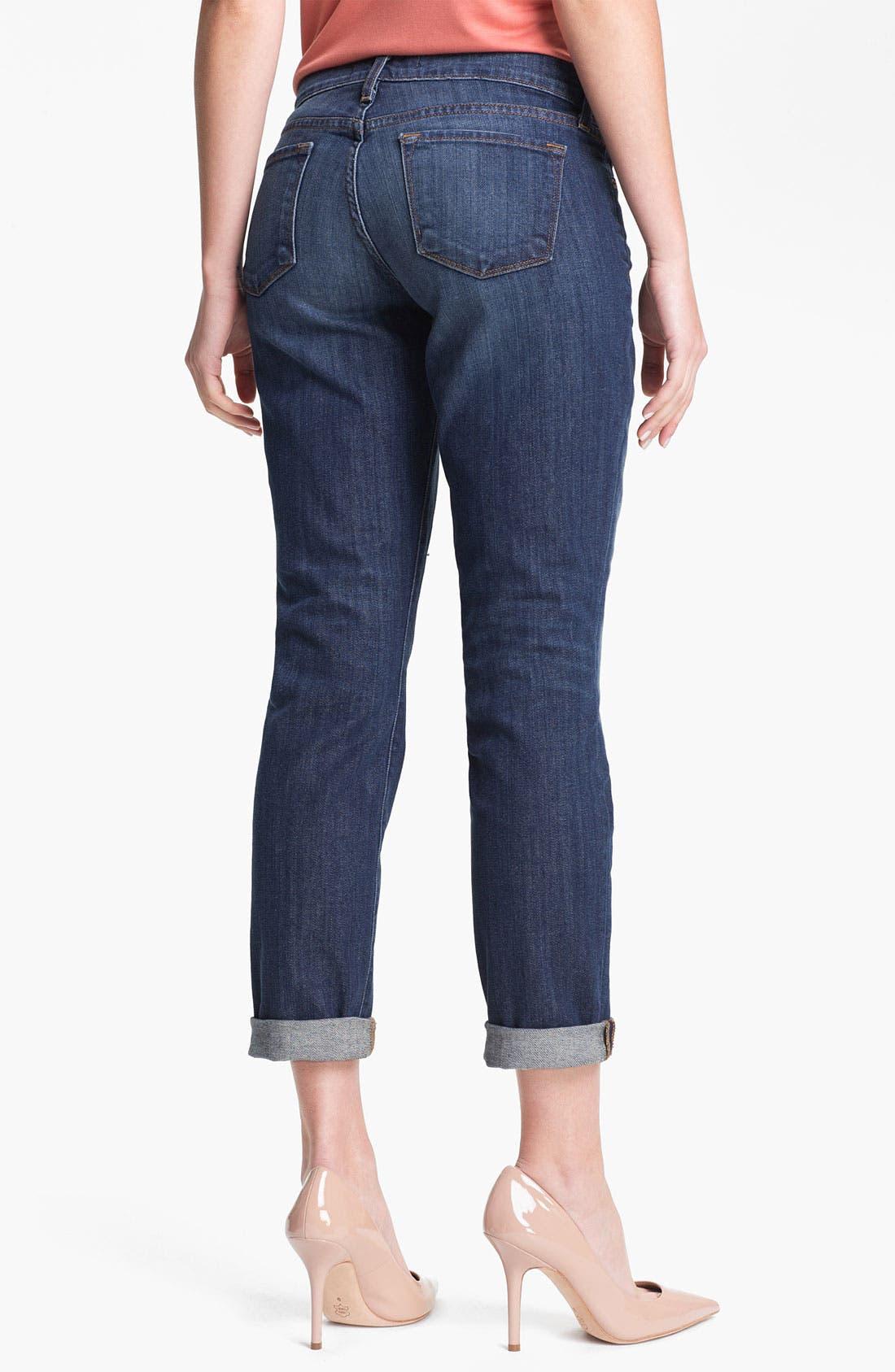 Alternate Image 2  - J Brand 'Midori' Destroyed Boyfriend Jeans (Big Time)