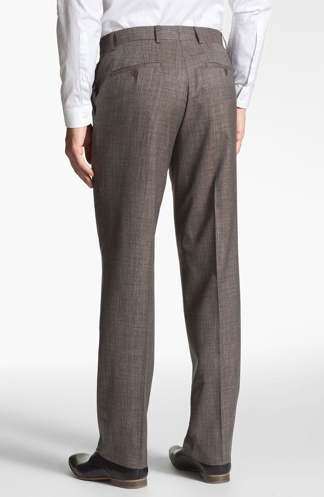 Alternate Image 2  - Linea Naturale 'Luxe Natty' Wool Trousers