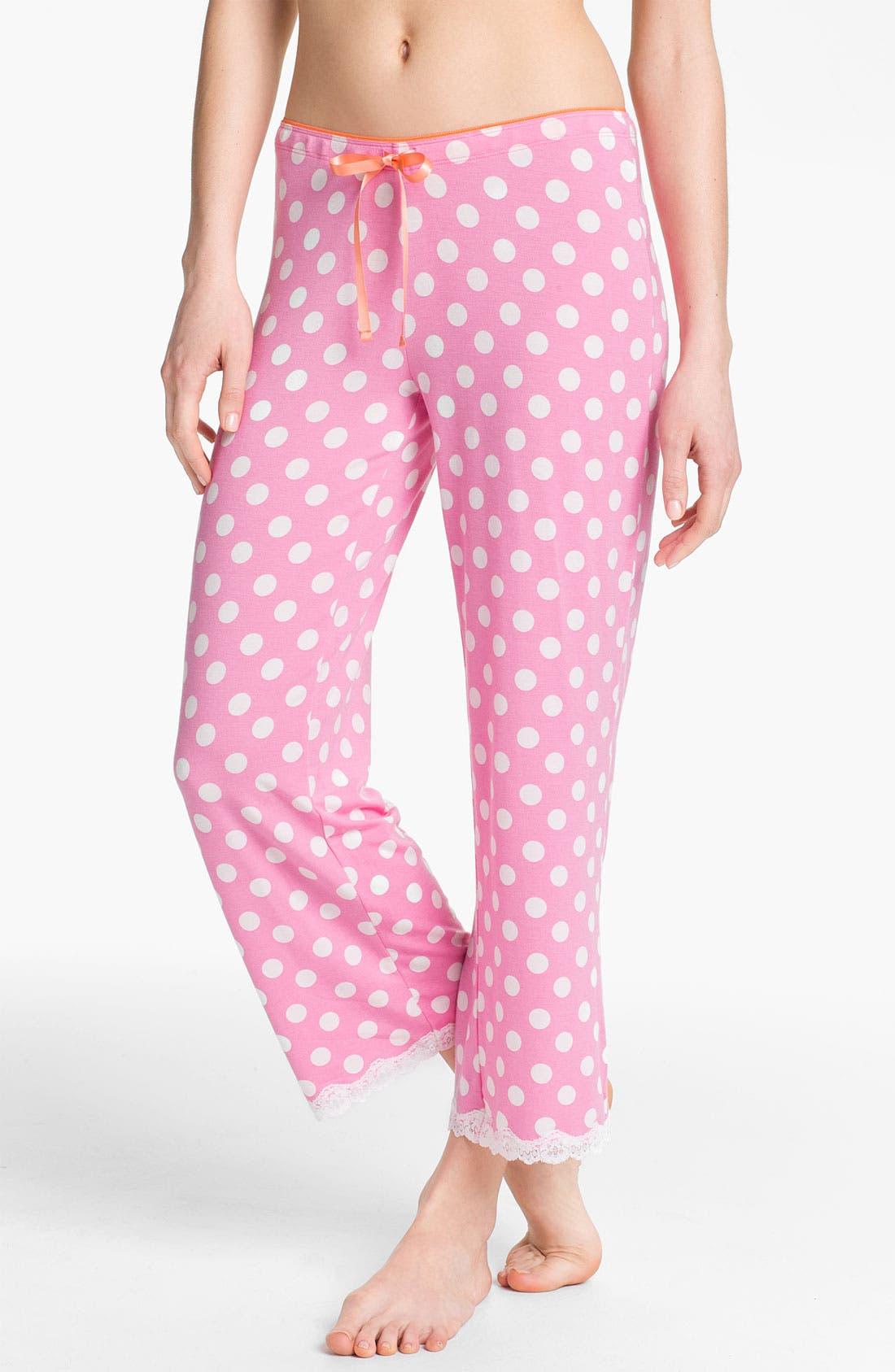 Main Image - PJ Salvage 'Perfect Dot' Crop Lounge Pants