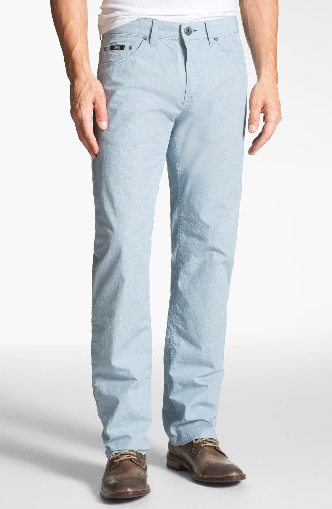 Main Image - BOSS HUGO BOSS 'Maine' Regular Fit Pants