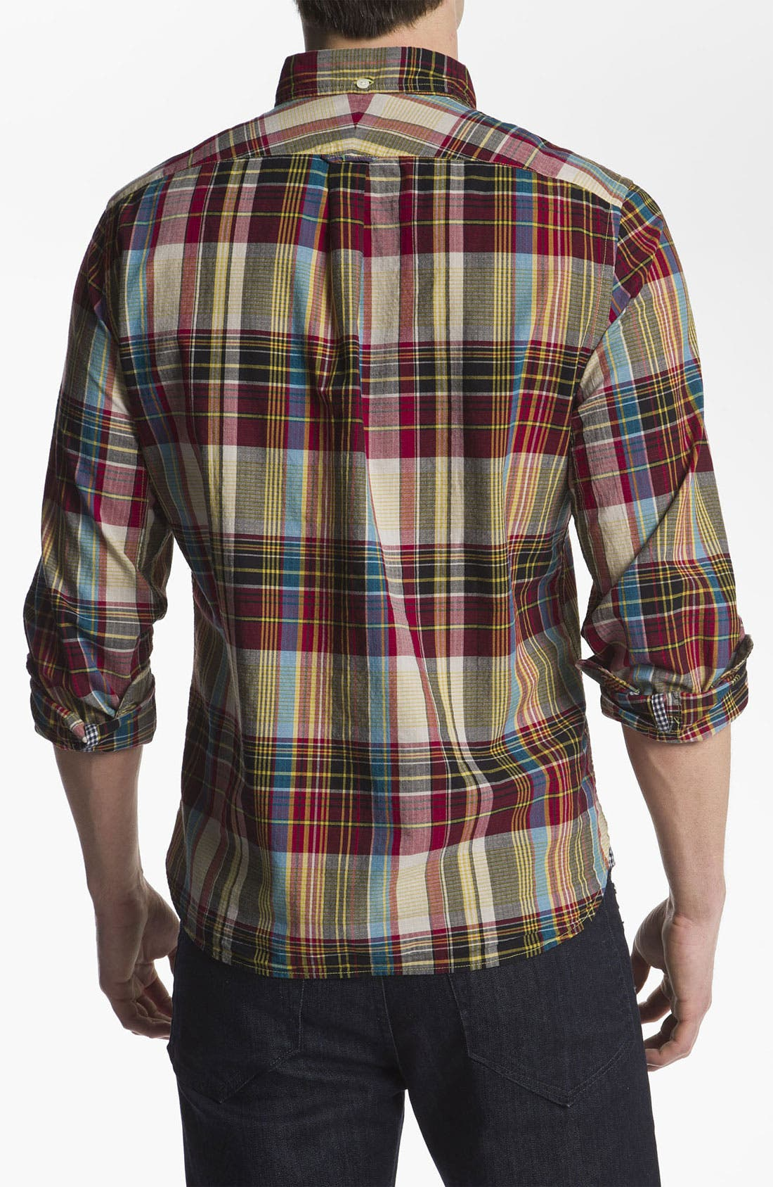 Alternate Image 2  - Woolrich John Rich 'Richard' Ripstop Woven Shirt
