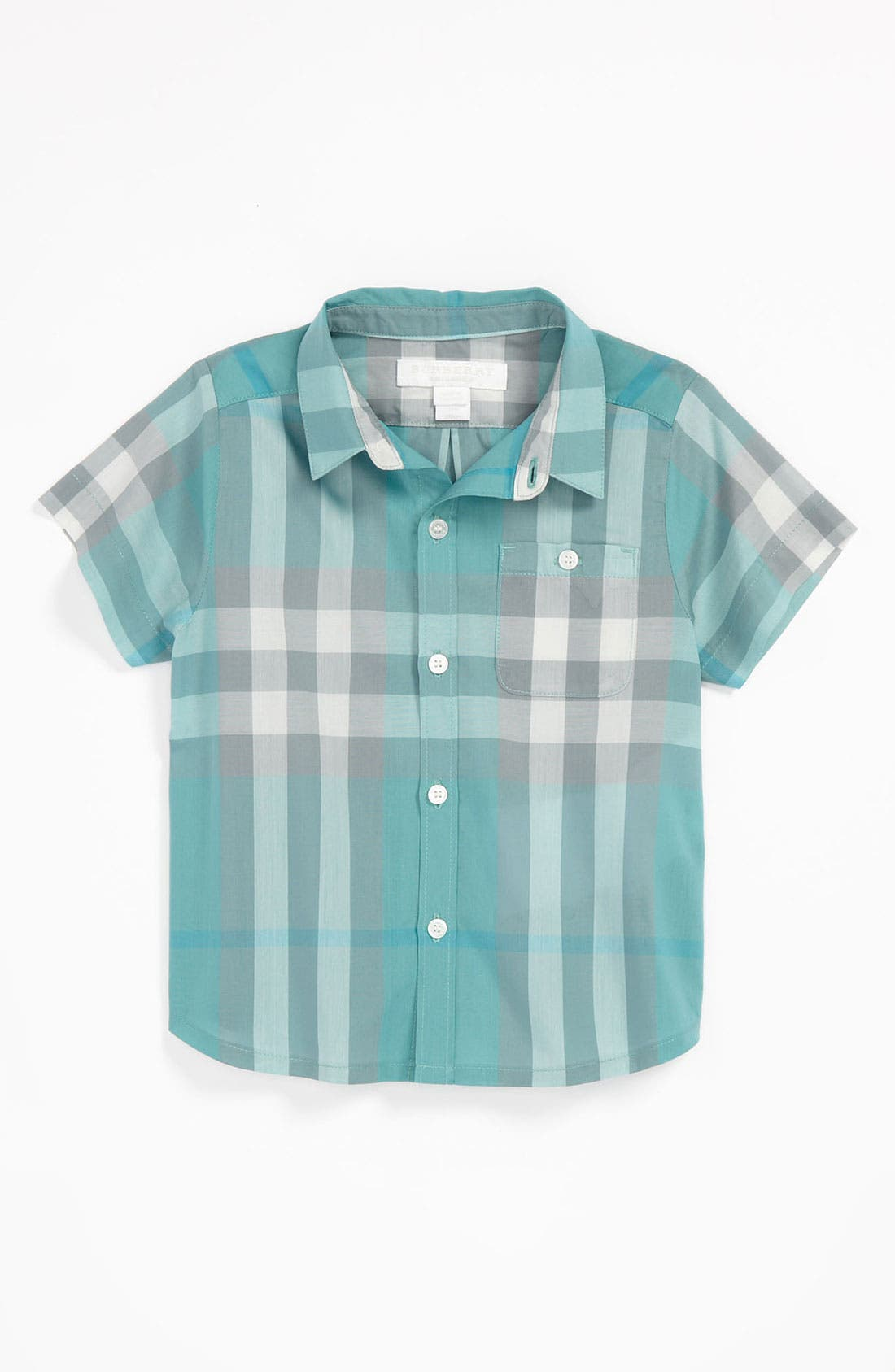 Alternate Image 1 Selected - Burberry 'Tyson' Shirt (Baby)