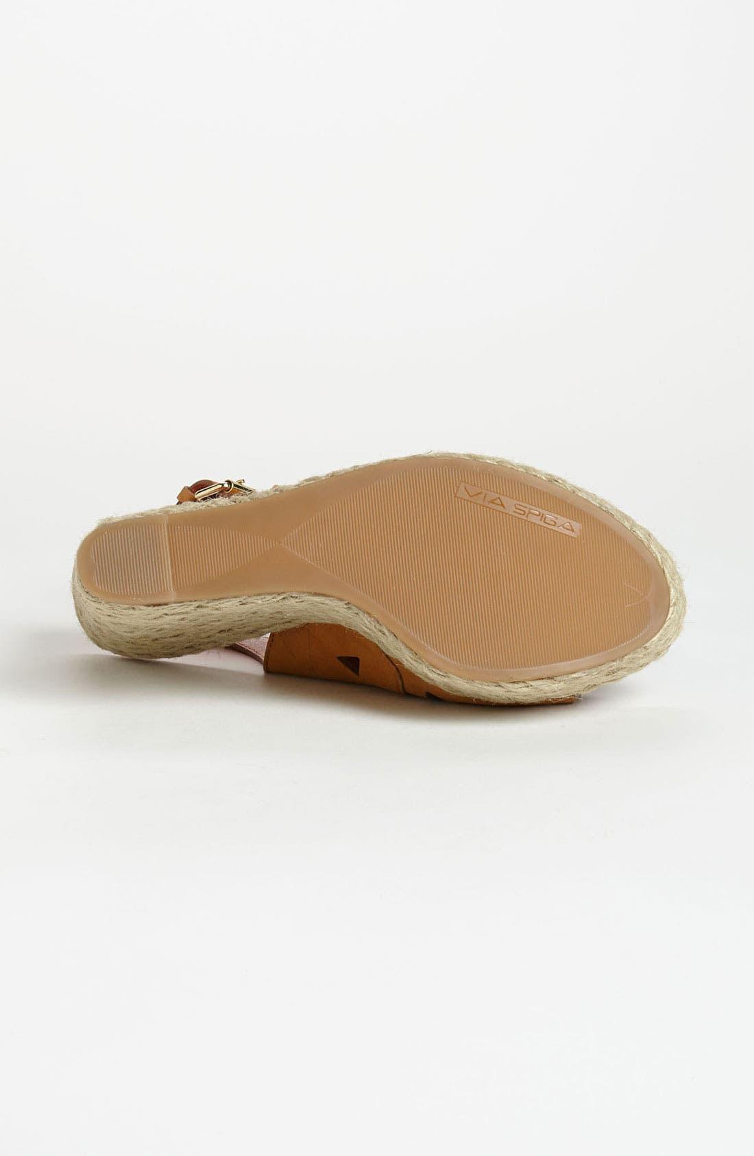 Alternate Image 4  - Via Spiga 'Katrina' Wedge Sandal
