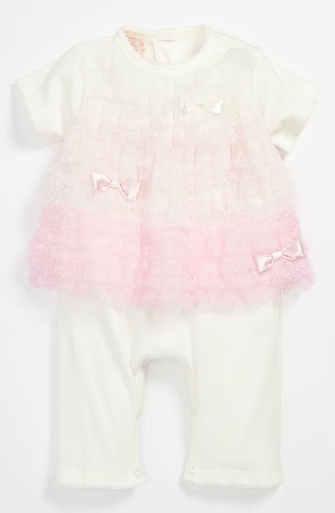 Alternate Image 1 Selected - Biscotti Coveralls (Baby)