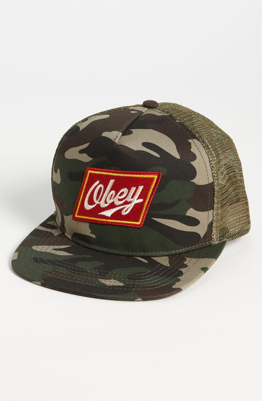 Main Image - Obey Trucker Hat