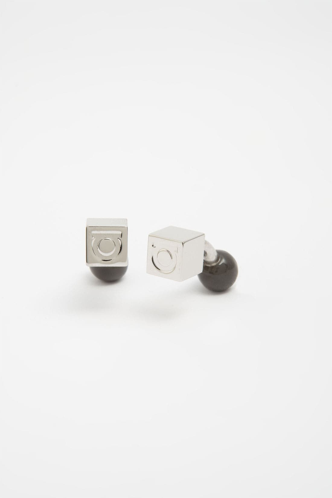 Main Image - Salvatore Ferragamo 'Gem - Cubo' Cuff Links