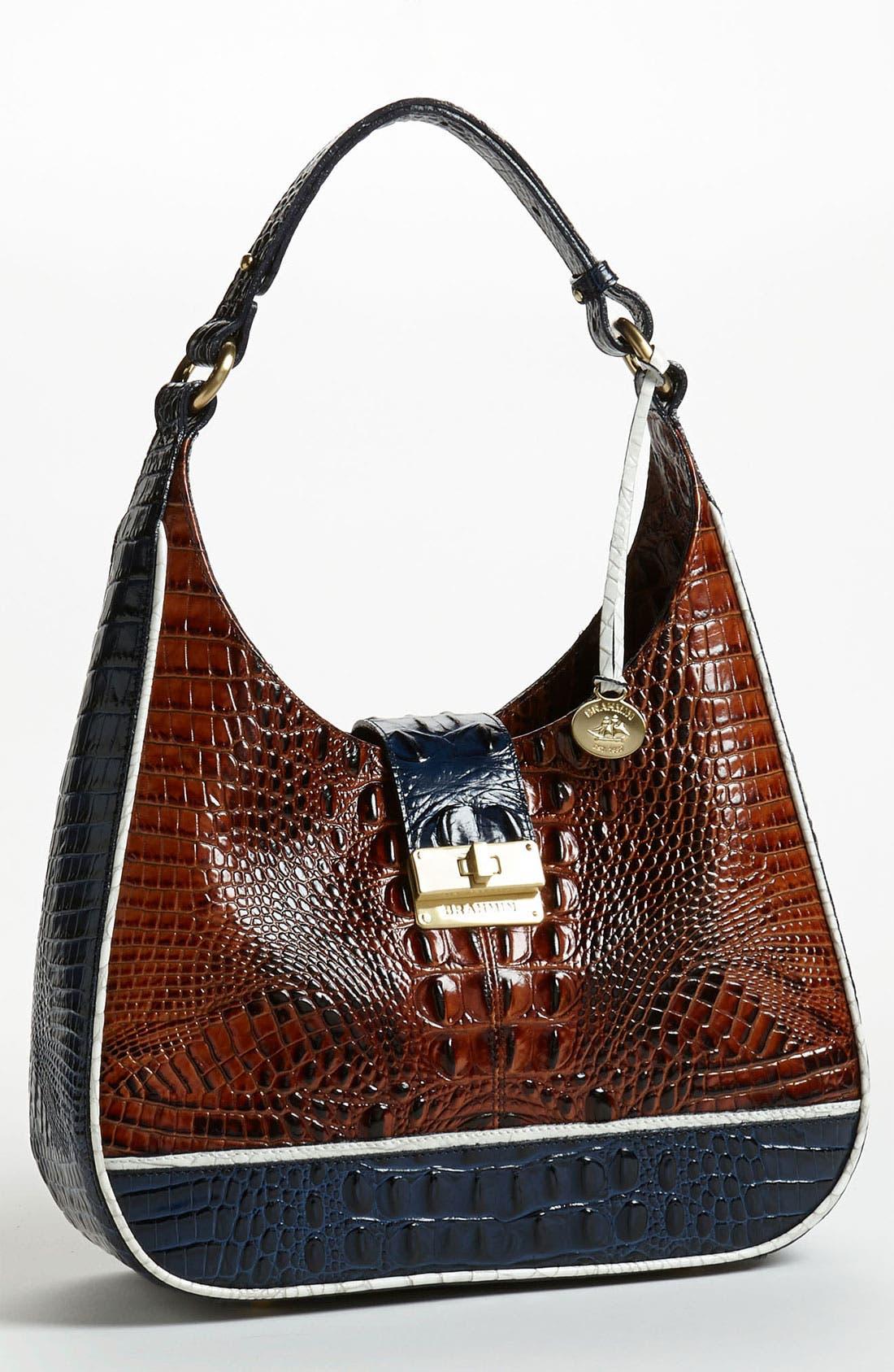 Alternate Image 1 Selected - Brahmin 'Quinn - Tricolor' Shoulder Bag