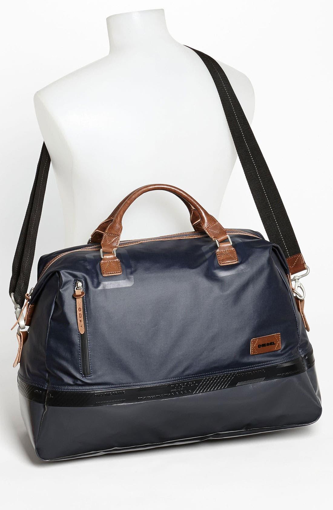 Alternate Image 2  - DIESEL® 'Rubber Hub' Duffel Bag