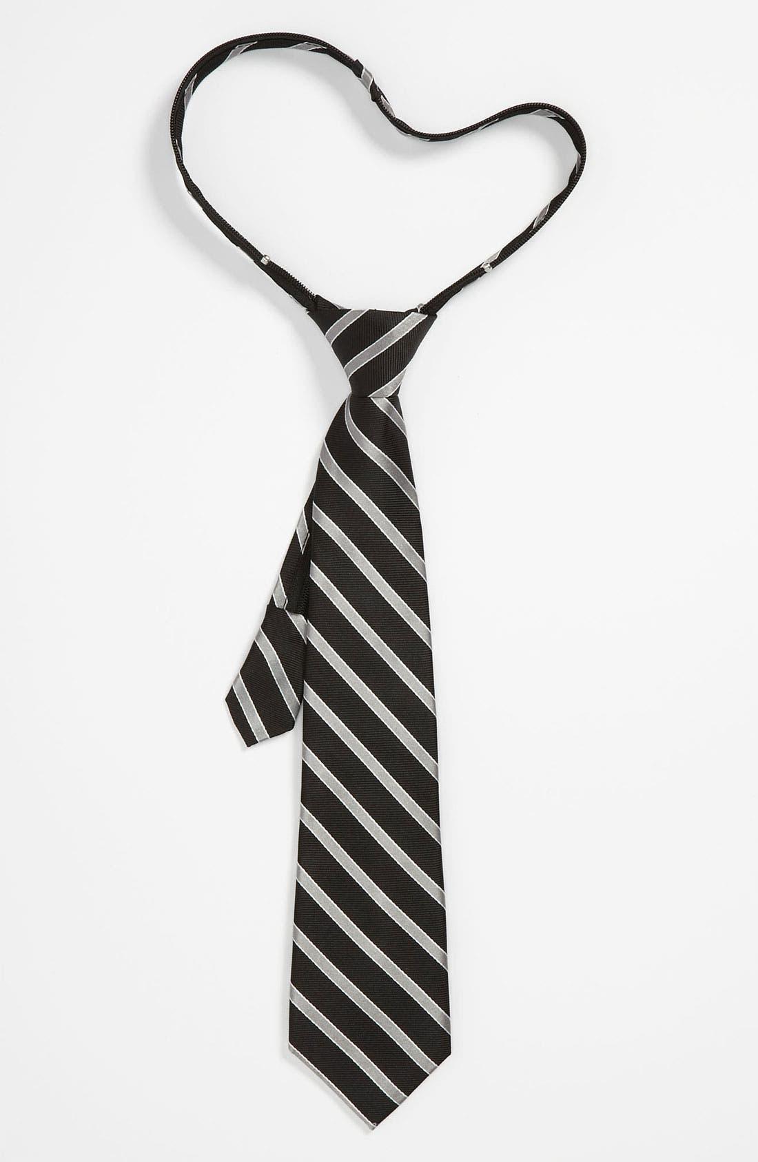 Alternate Image 1 Selected - Nordstrom Zipper Tie (Big Boys)