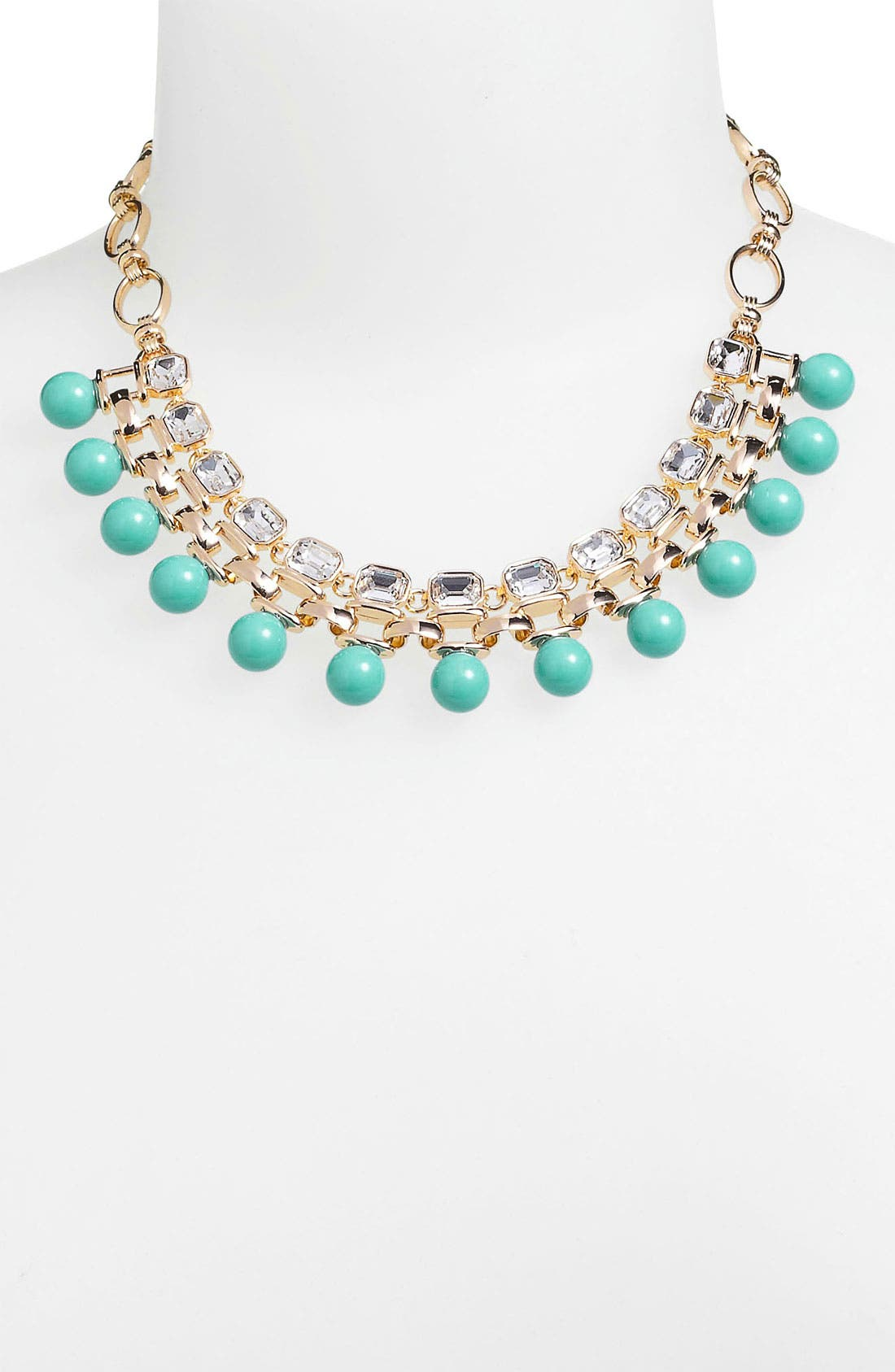 Alternate Image 2  - Anne Klein 'Sorbet' Bib Necklace