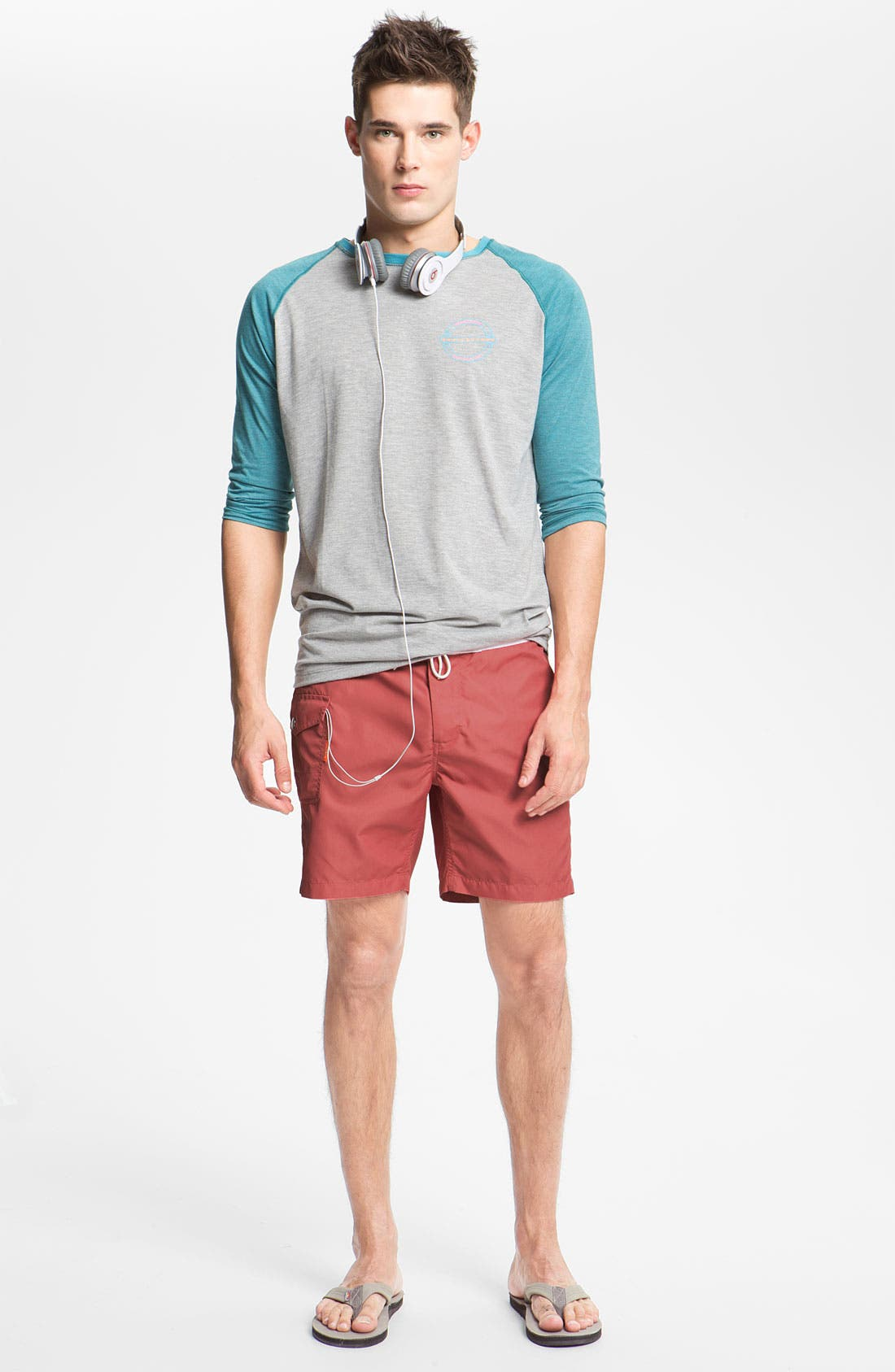 Alternate Image 4  - Saltbox Board Shorts