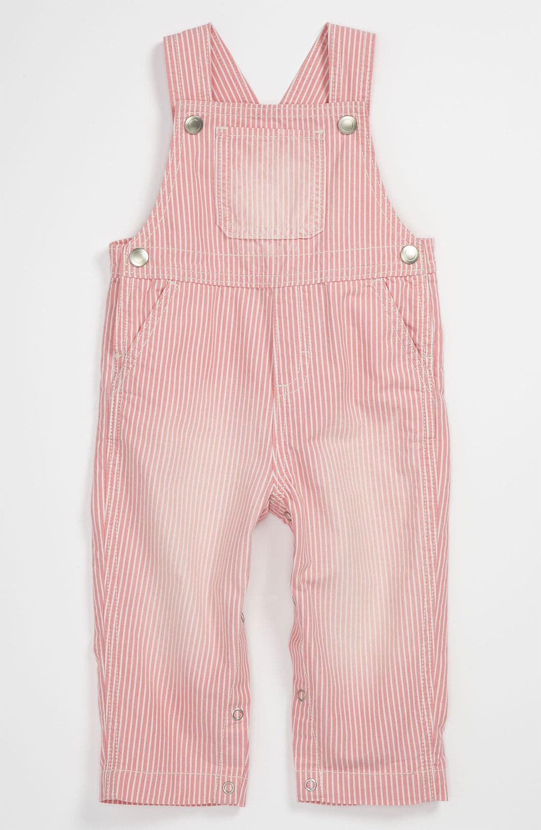 Main Image - Nordstrom Baby Woven Coveralls (Infant)