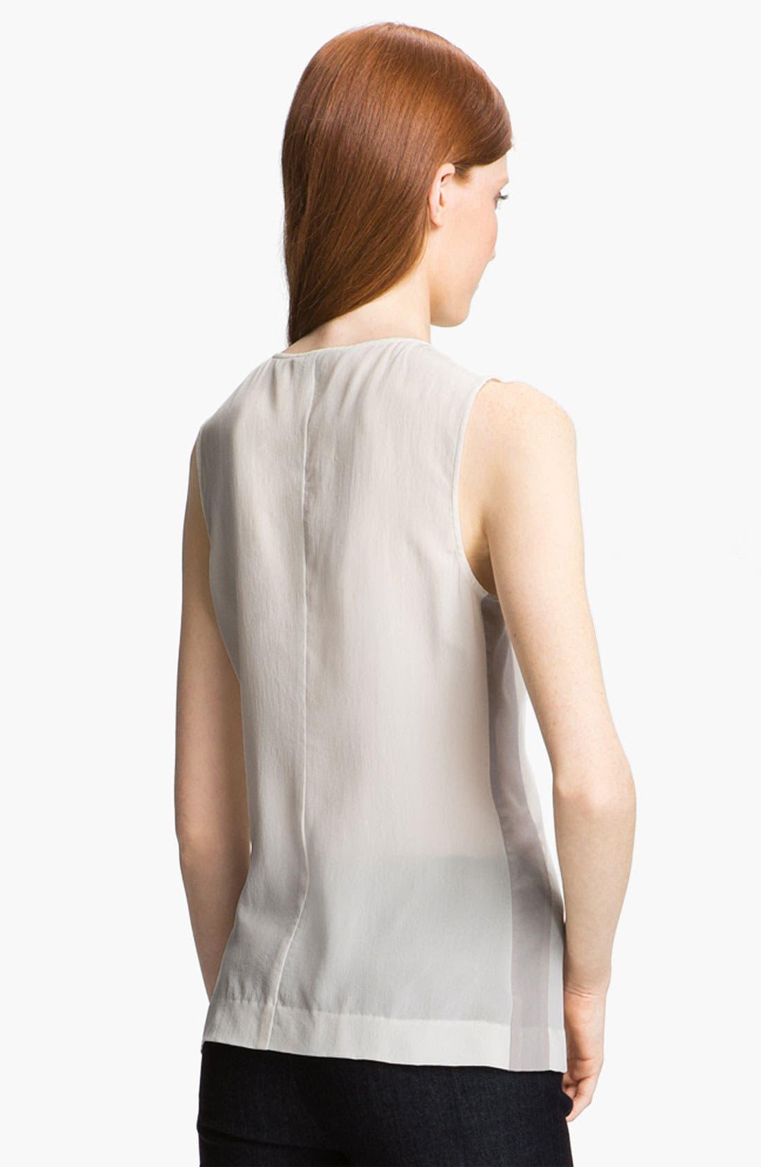 Alternate Image 4  - Rachel Zoe 'Angela' Sheer Silk Top