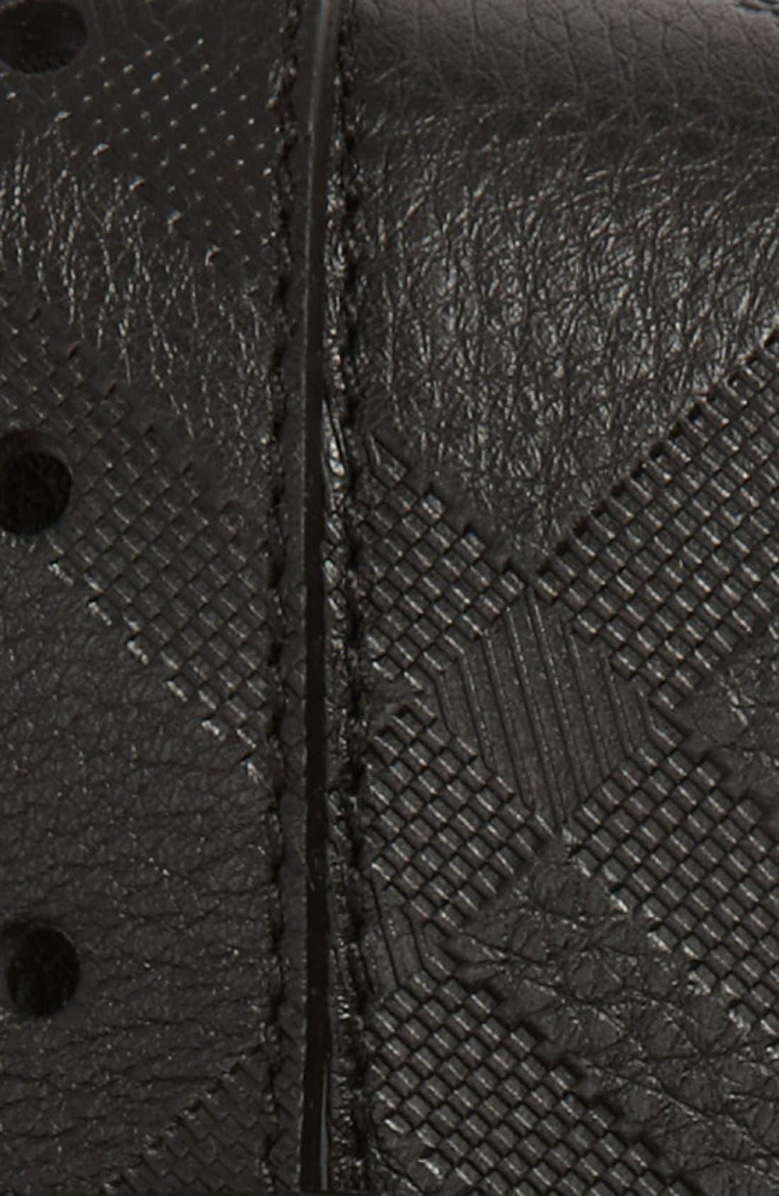 Alternate Image 2  - Burberry Leather Belt