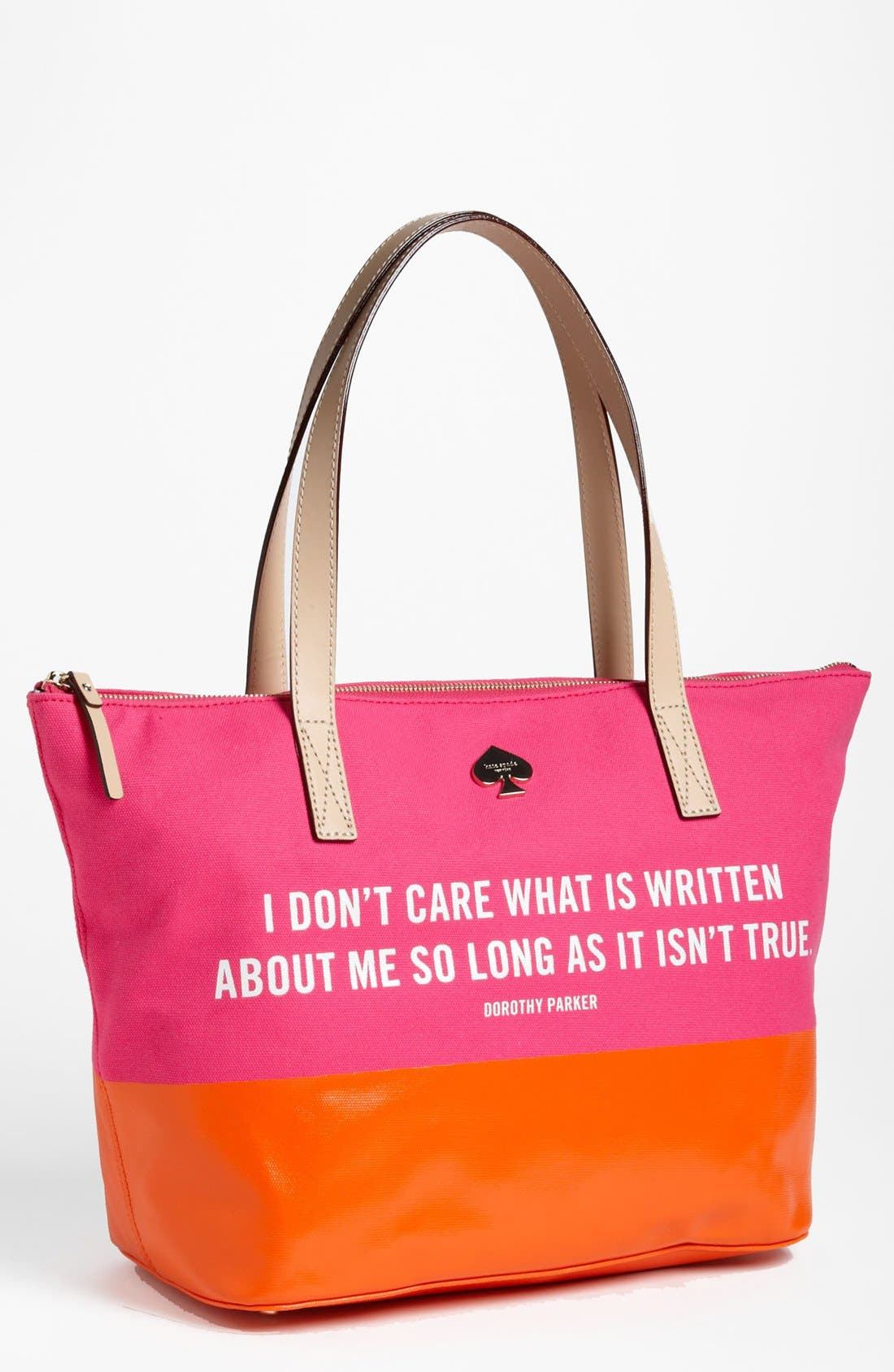Alternate Image 1 Selected - kate spade new york 'call to action - small coal' tote