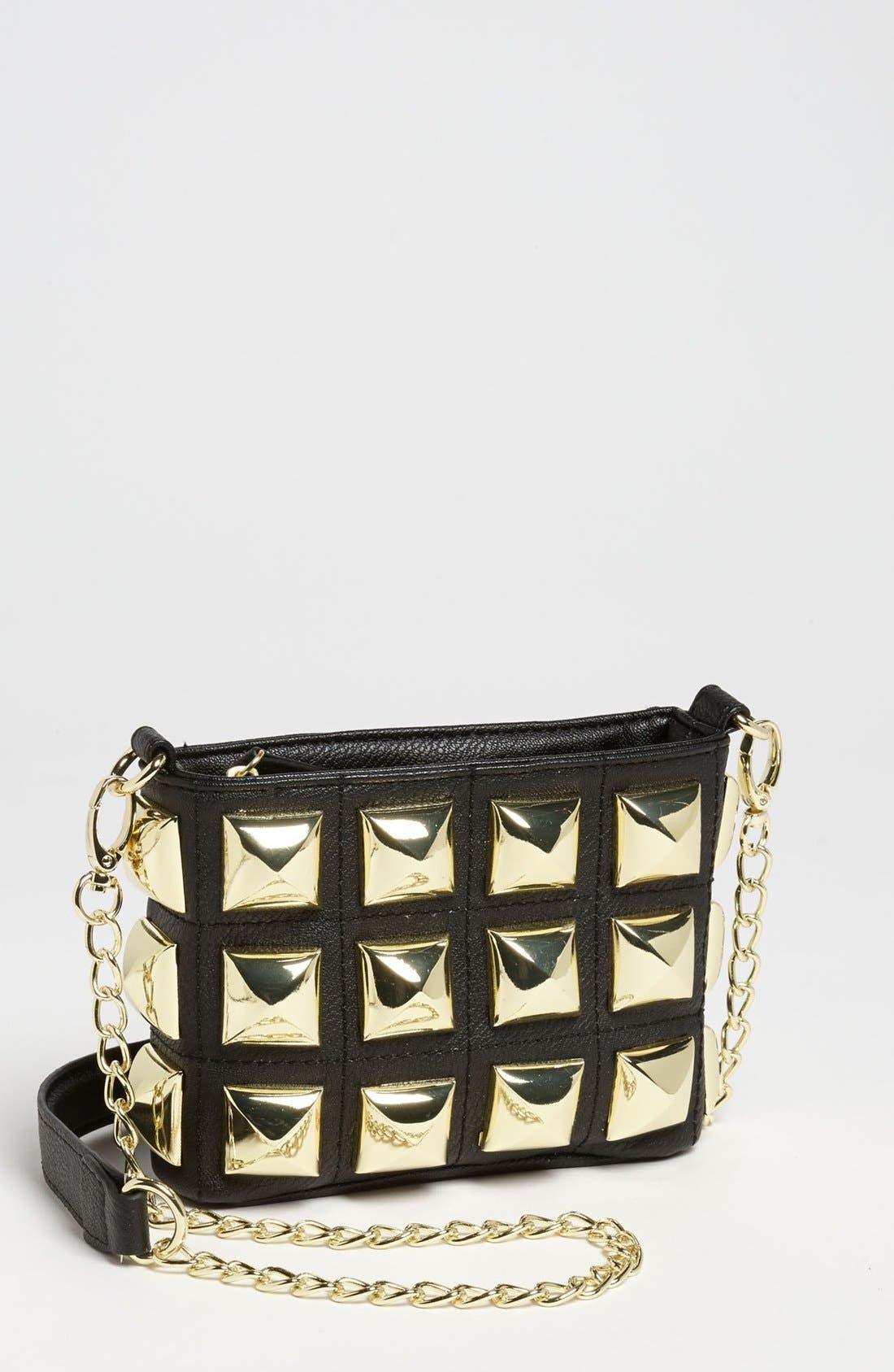 Alternate Image 1 Selected - Betsey Johnson 'Stud Muffin' Crossbody Bag