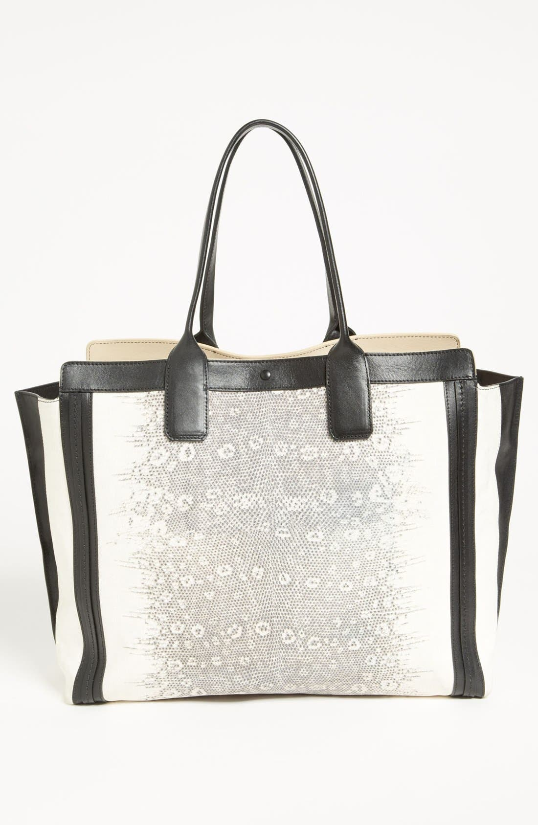 Alternate Image 4  - Chloé 'Alison - Lizard' Printed Leather Tote