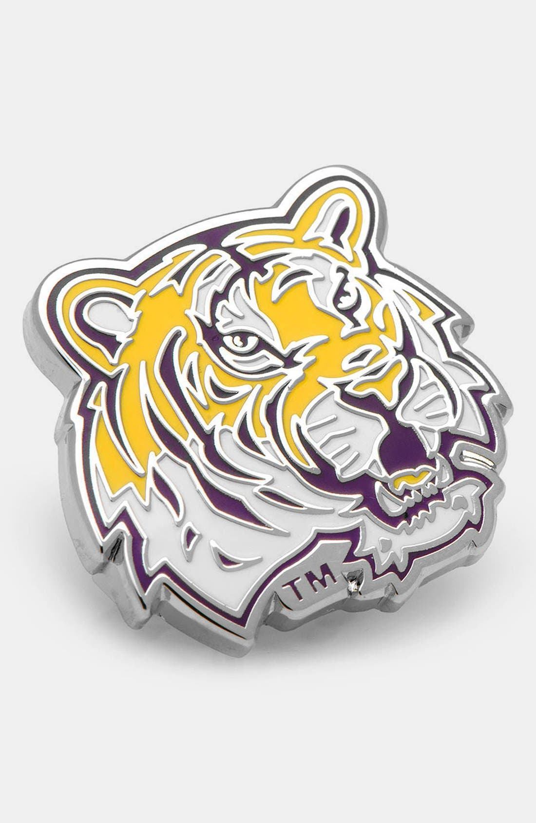 Alternate Image 1 Selected - Cufflinks, Inc. 'LSU Tigers' Lapel Pin