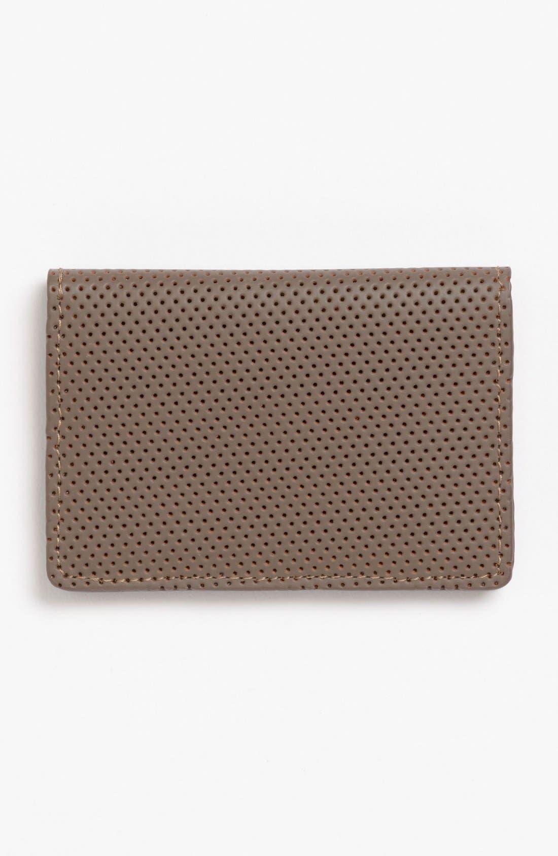 Alternate Image 1 Selected - J Fold 'Microperf' Folding Card Holder